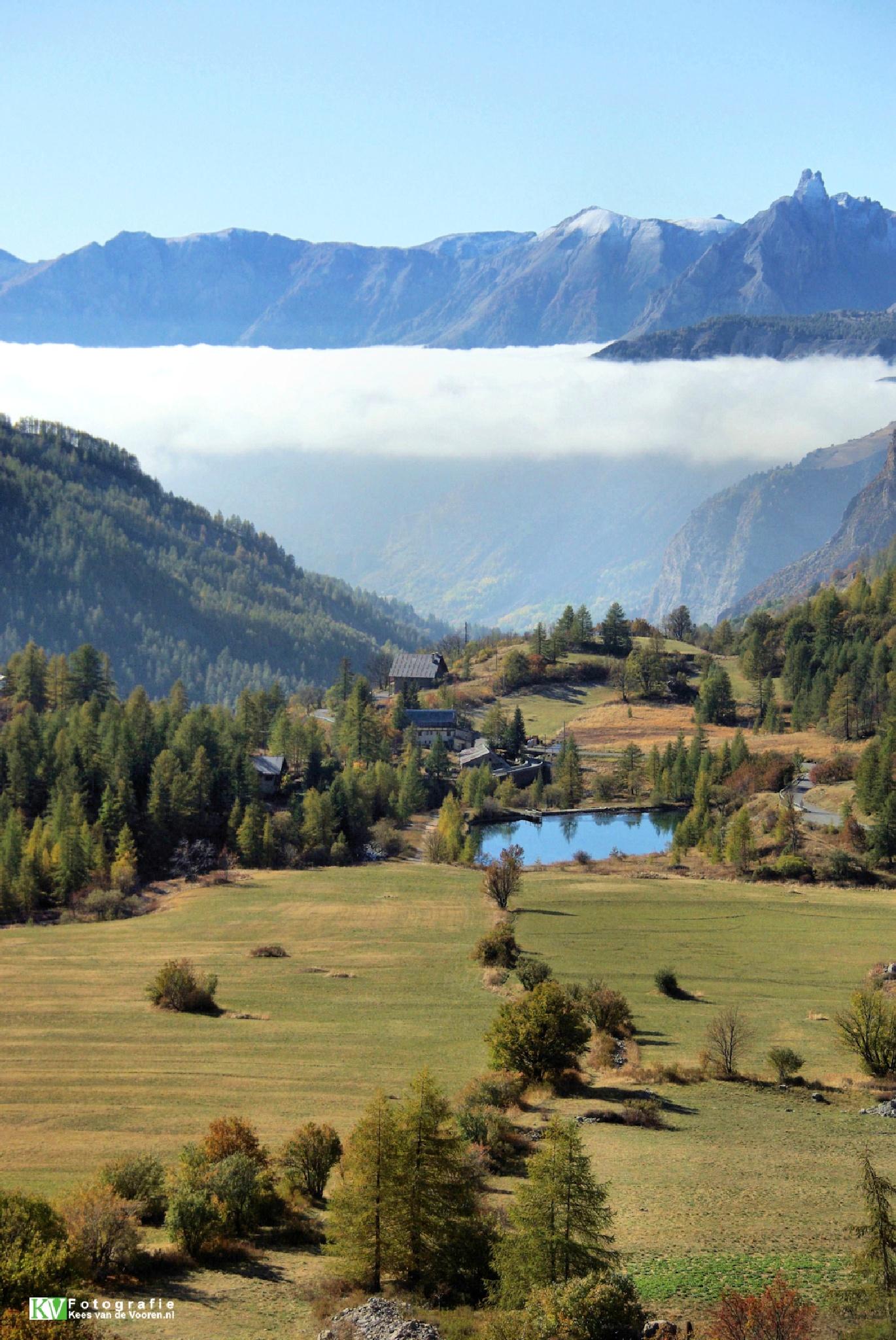 Autumn in the Alpes by Kees van de  Vooren