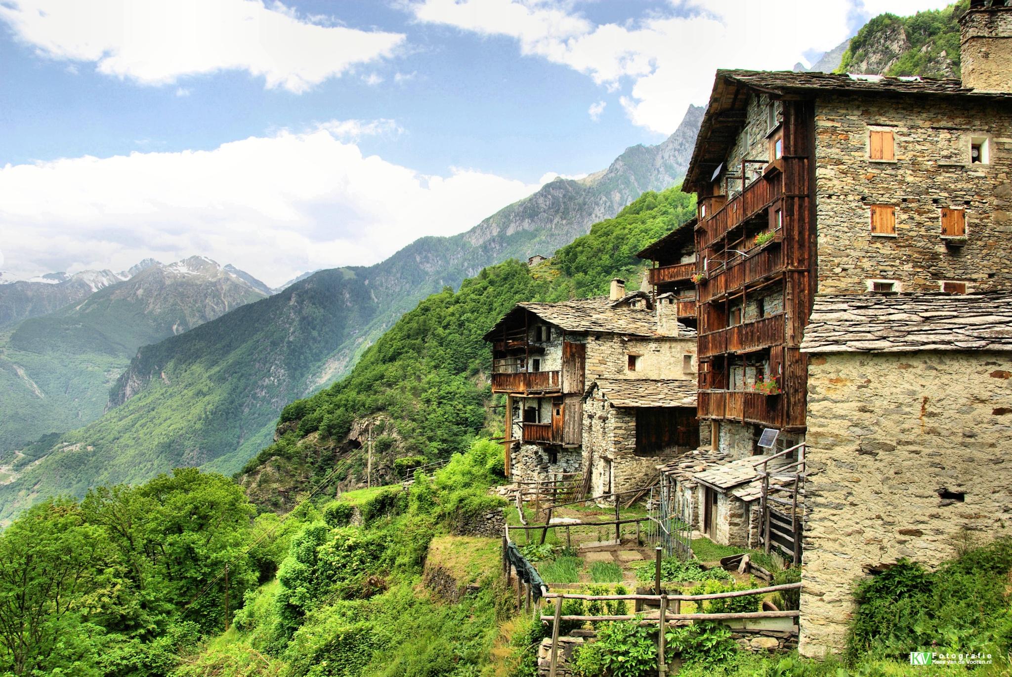 Italian Alps by Kees van de  Vooren