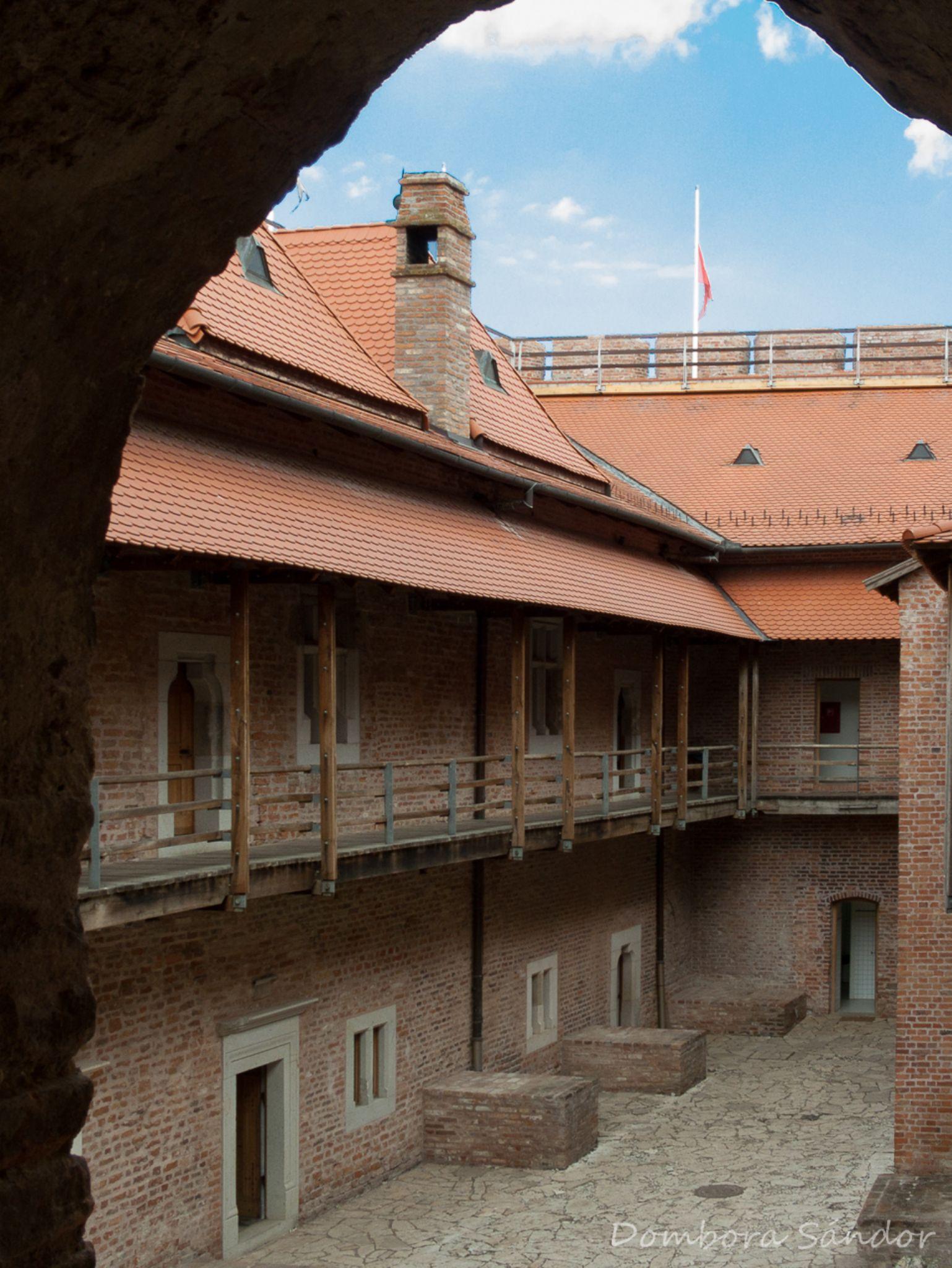 Castel Gyula by Sándor Dombora