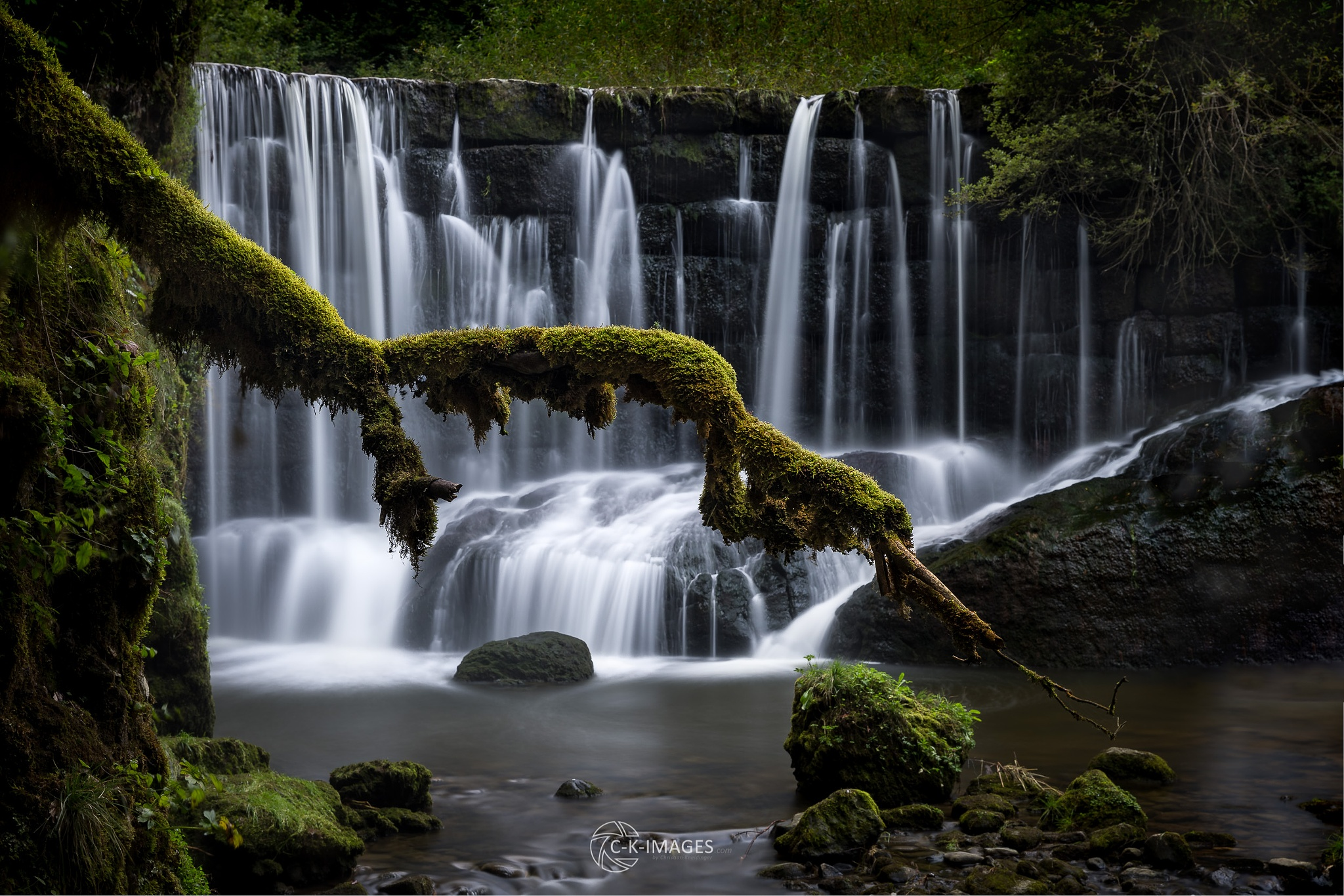 Hidden Waterfall by Christian Kneidinger