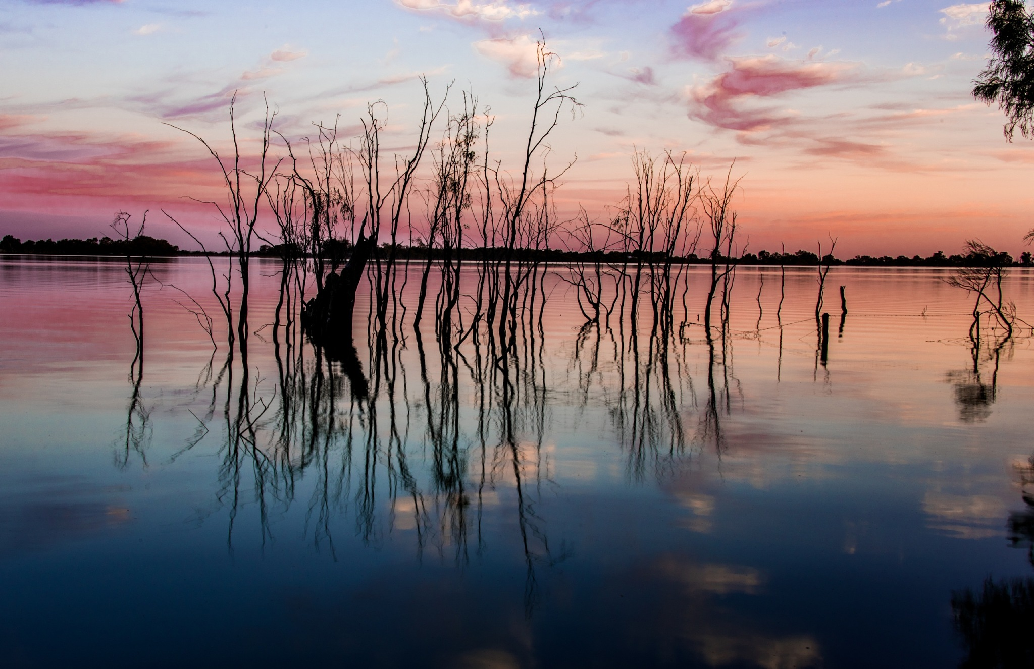 Lake Cargellico sunset by Trevor McKinnon