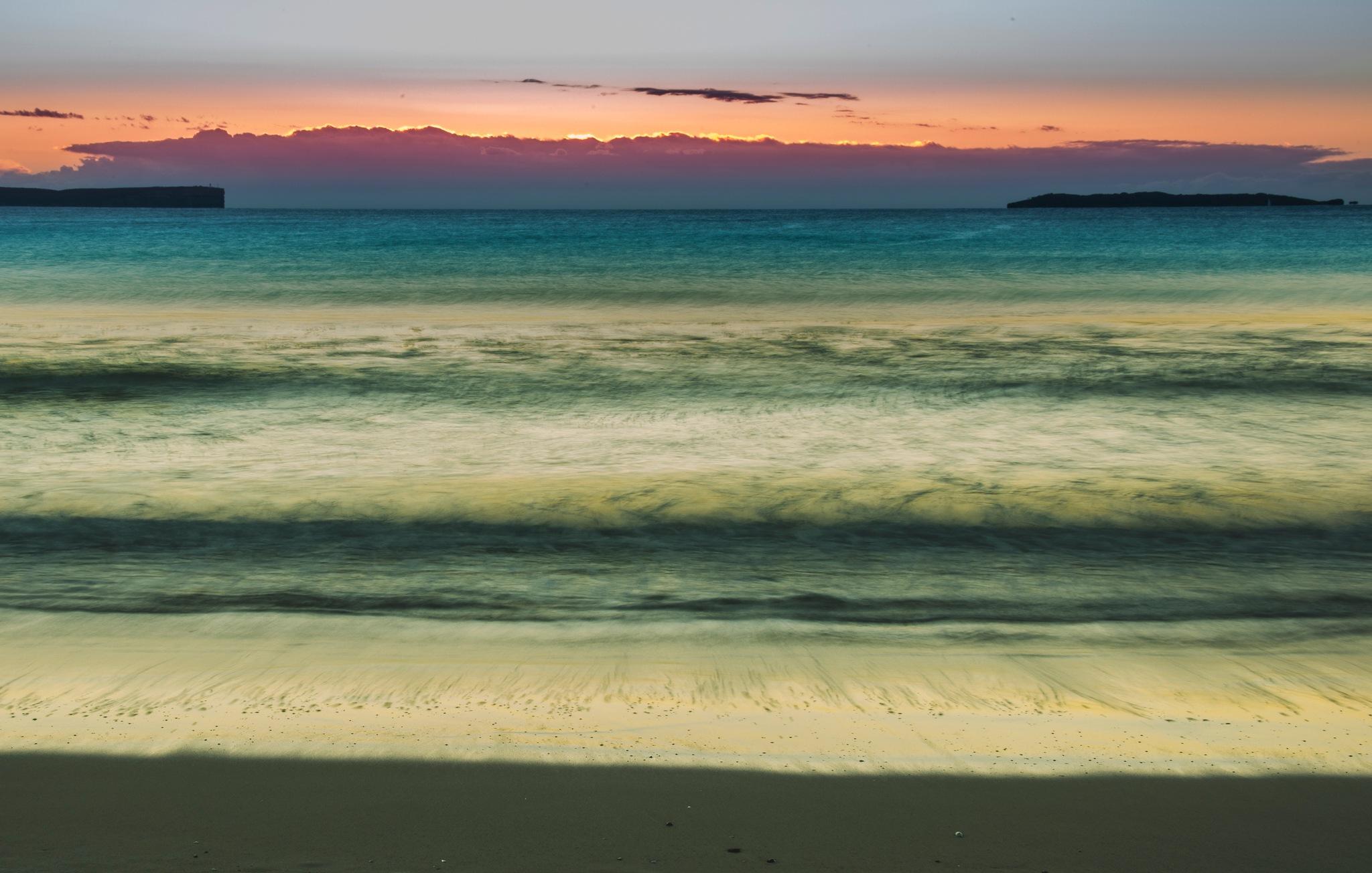 Jervis Bay sun rise by Trevor McKinnon