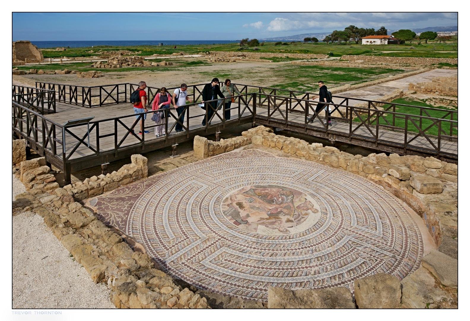 Archaeology Park, Paphos by tpthornton