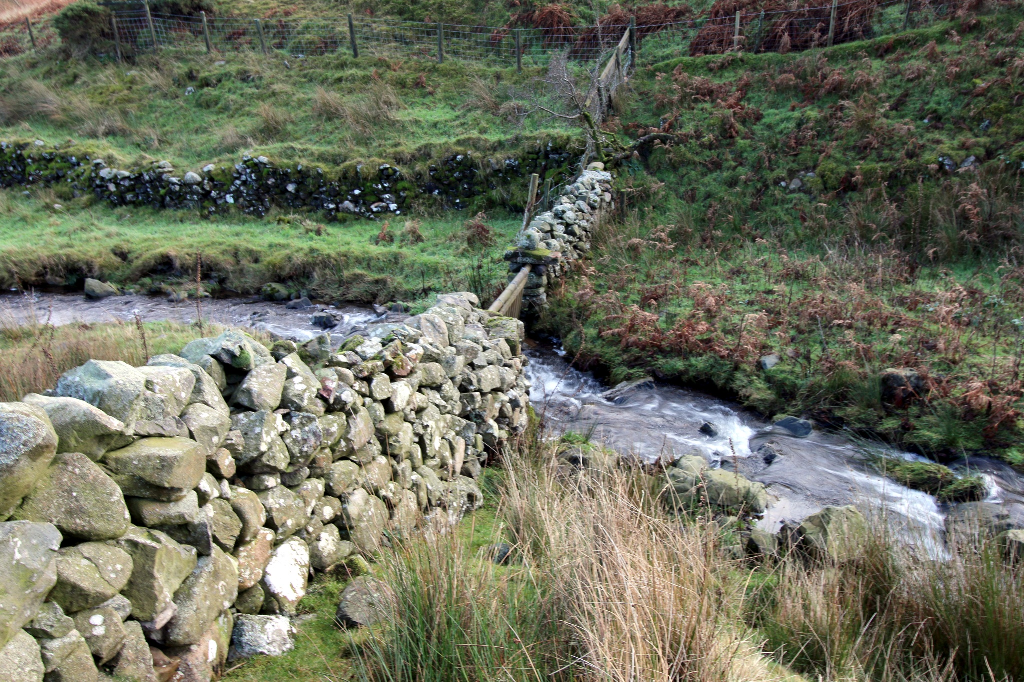 Dry stone wall by Mark Egdell