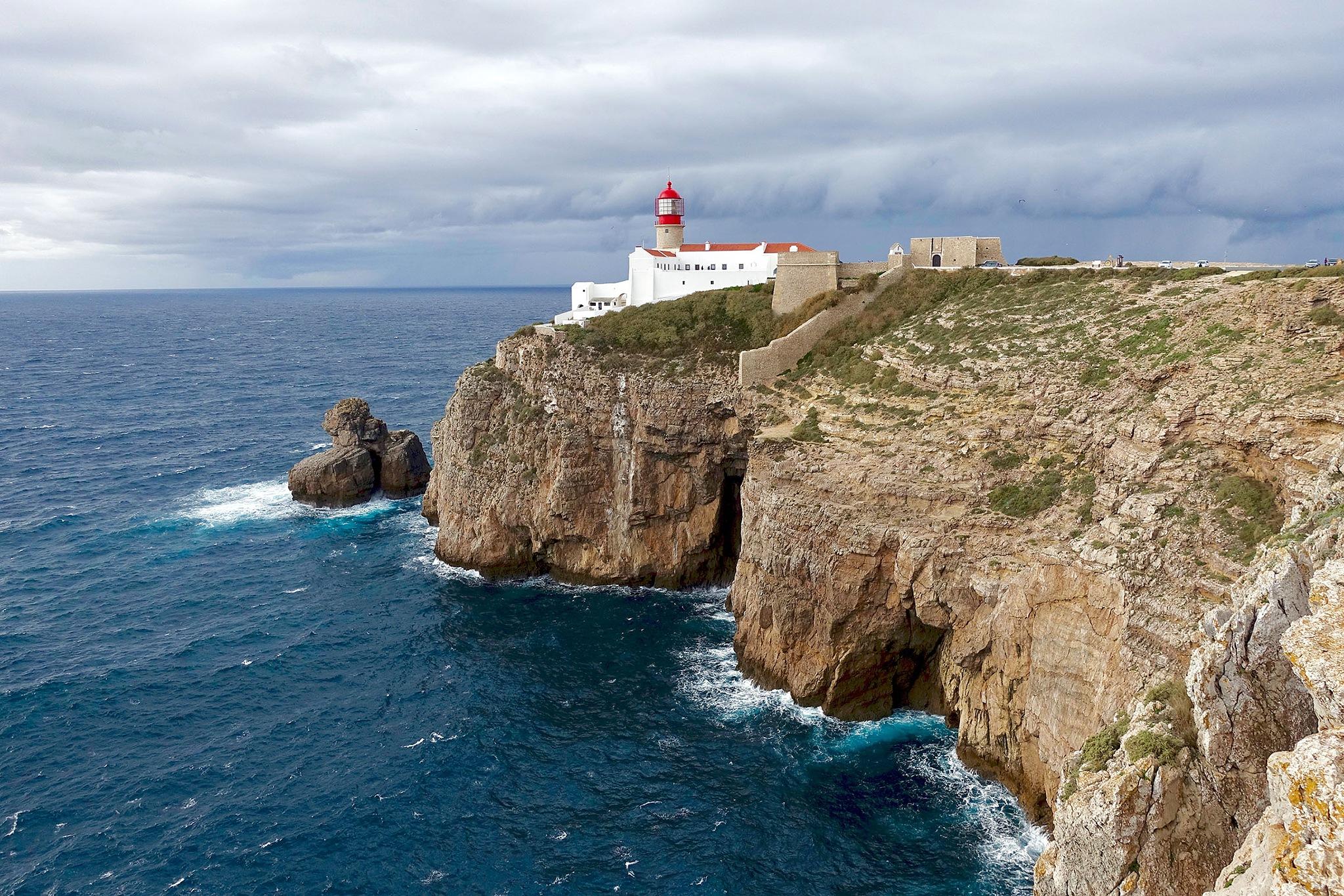 Cabo de São Vicente in Portugal. by Erwin Widmer