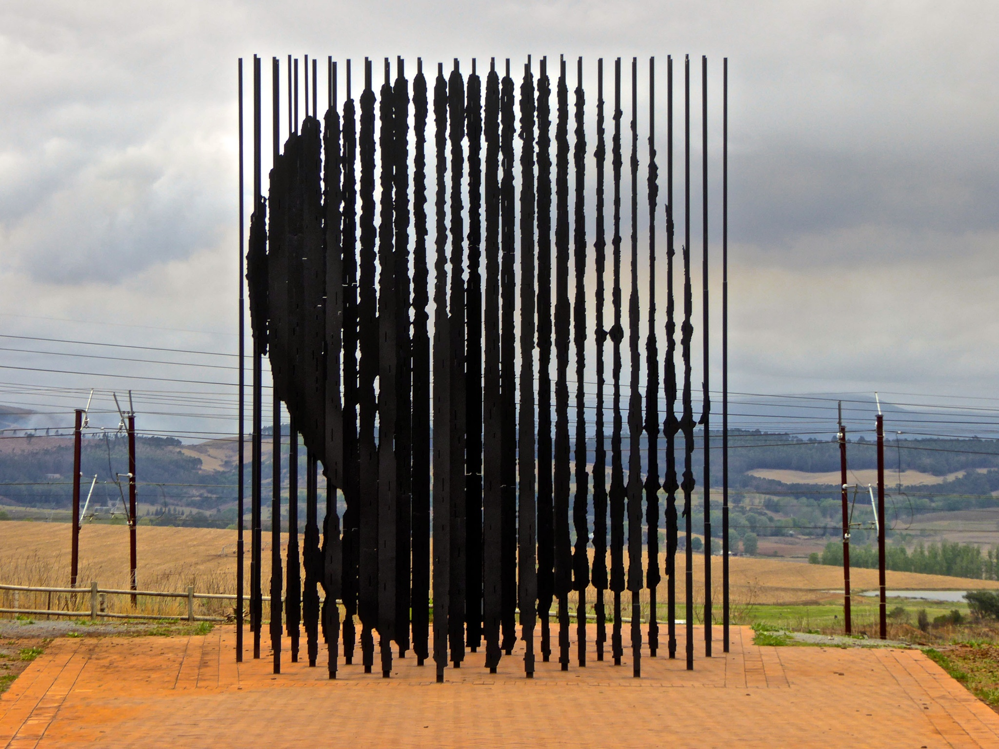 Mandela Monument near Howick, South Africa by Erwin Widmer