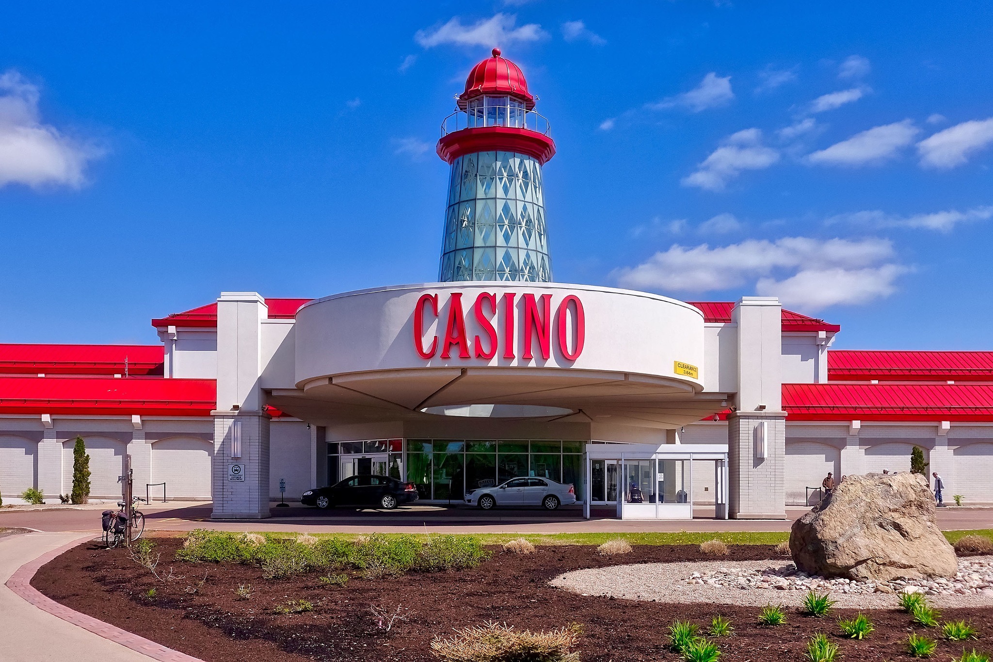 The casino of Moncton in Canada. by Erwin Widmer