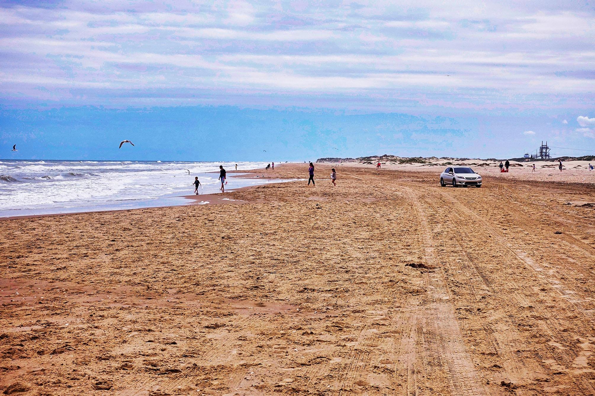 Beach by Erwin Widmer
