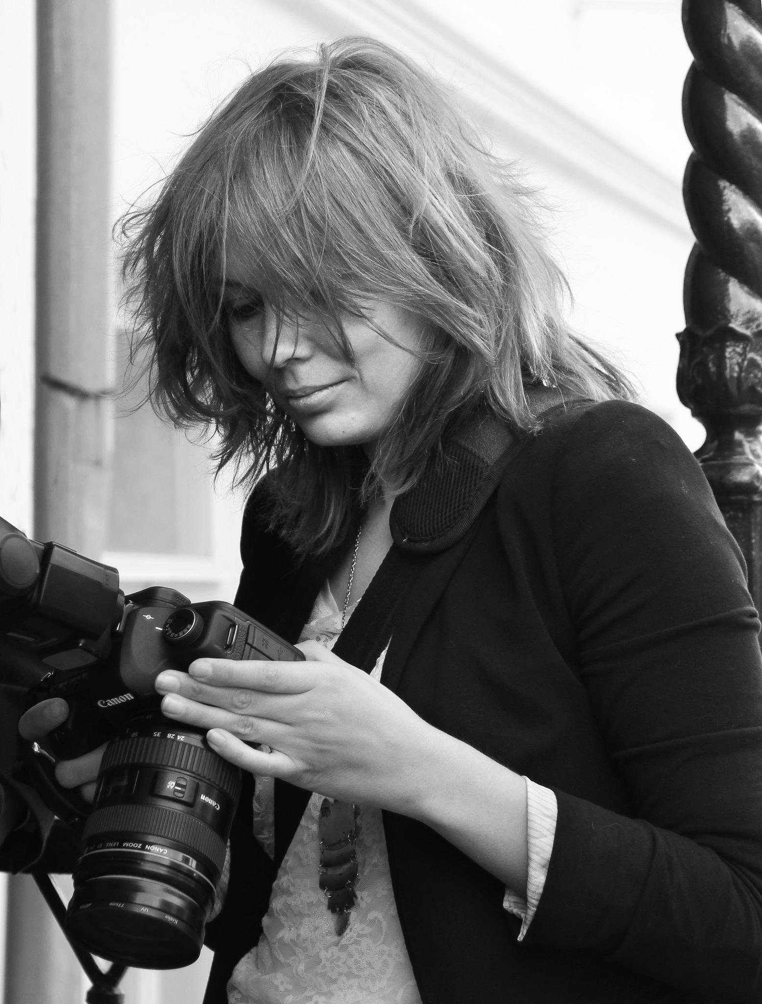 Girl and camera by Сергей Юрьев