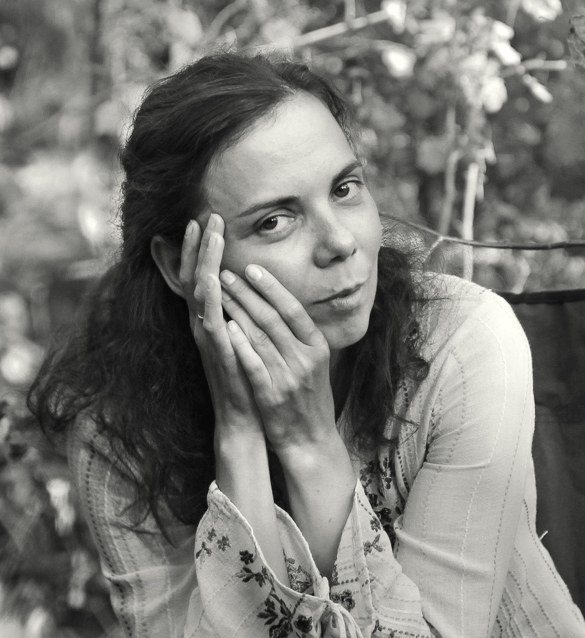 Zhenya in the forest by Сергей Юрьев