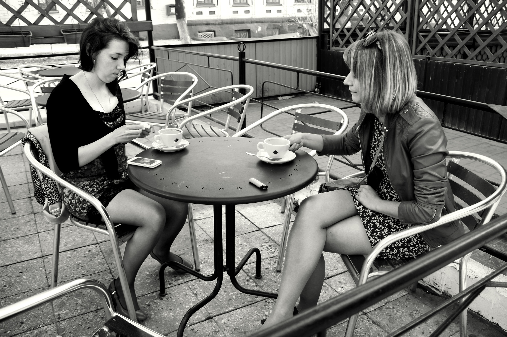 Olya and Lena drink  by Сергей Юрьев