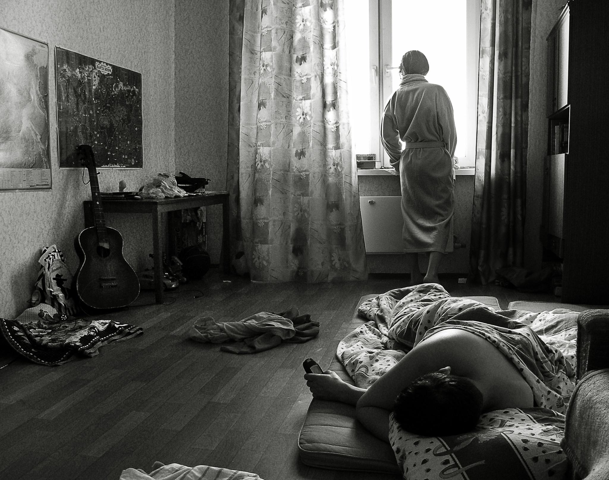 Morning in Moscow by Сергей Юрьев