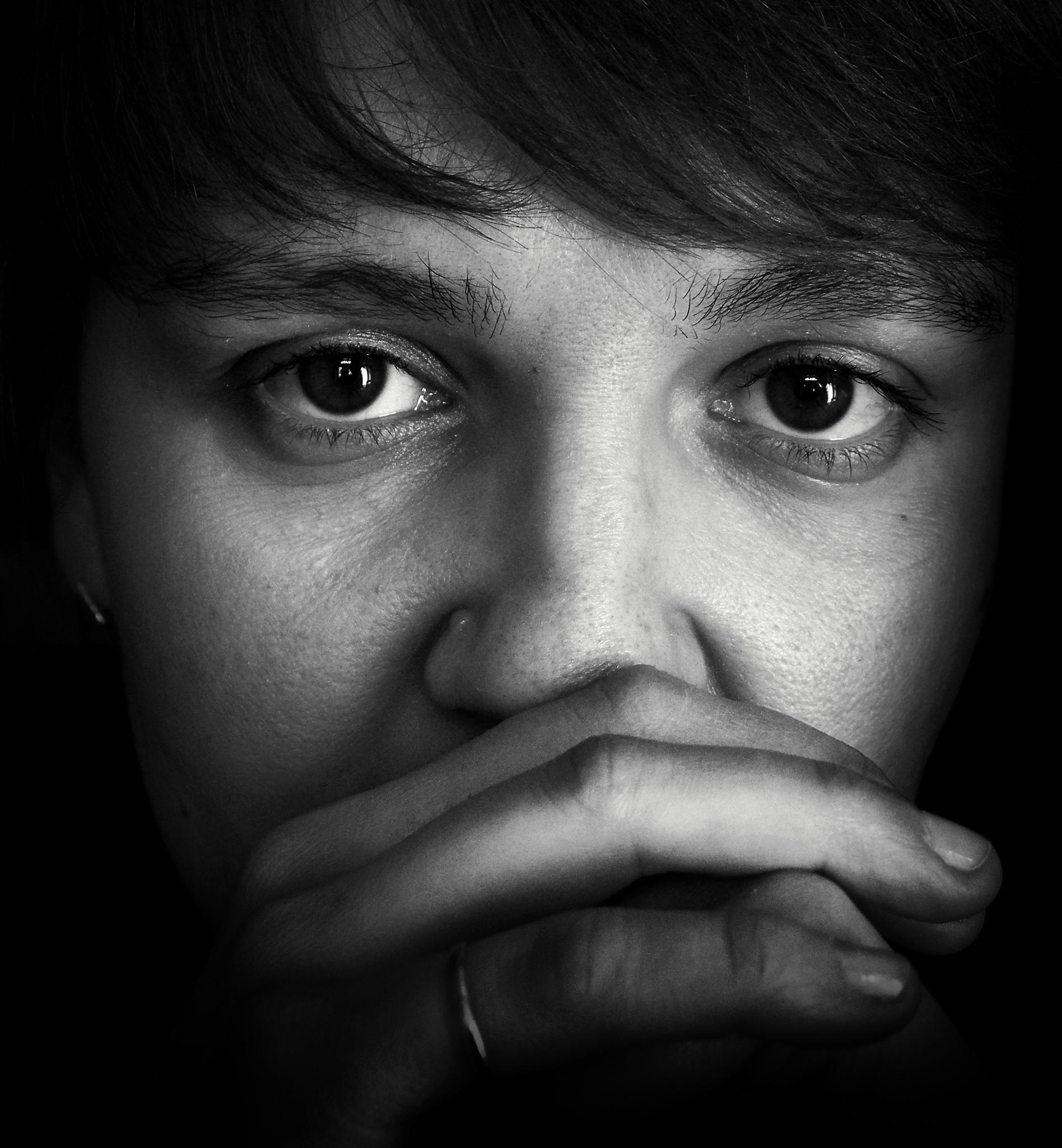 In her eyes asleep rain by Сергей Юрьев