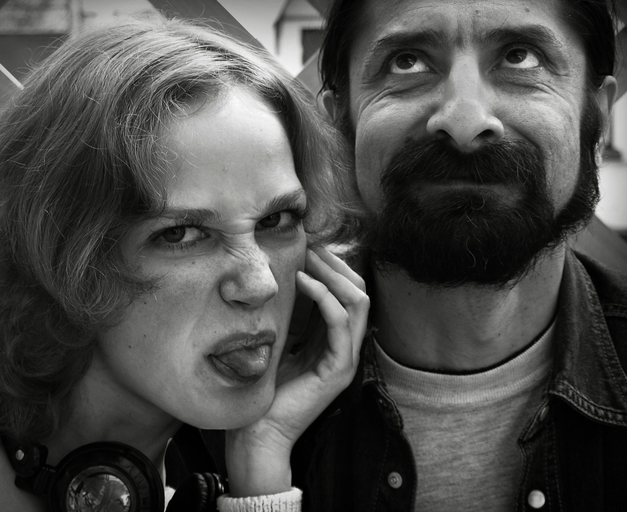 Sasha and Ahmed by Сергей Юрьев