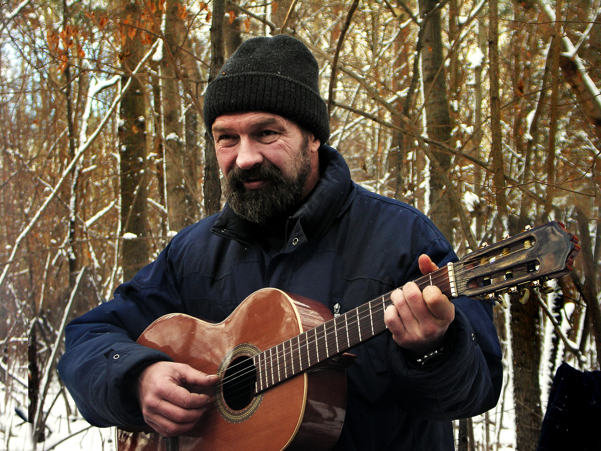 The song in the winter forest by Сергей Юрьев