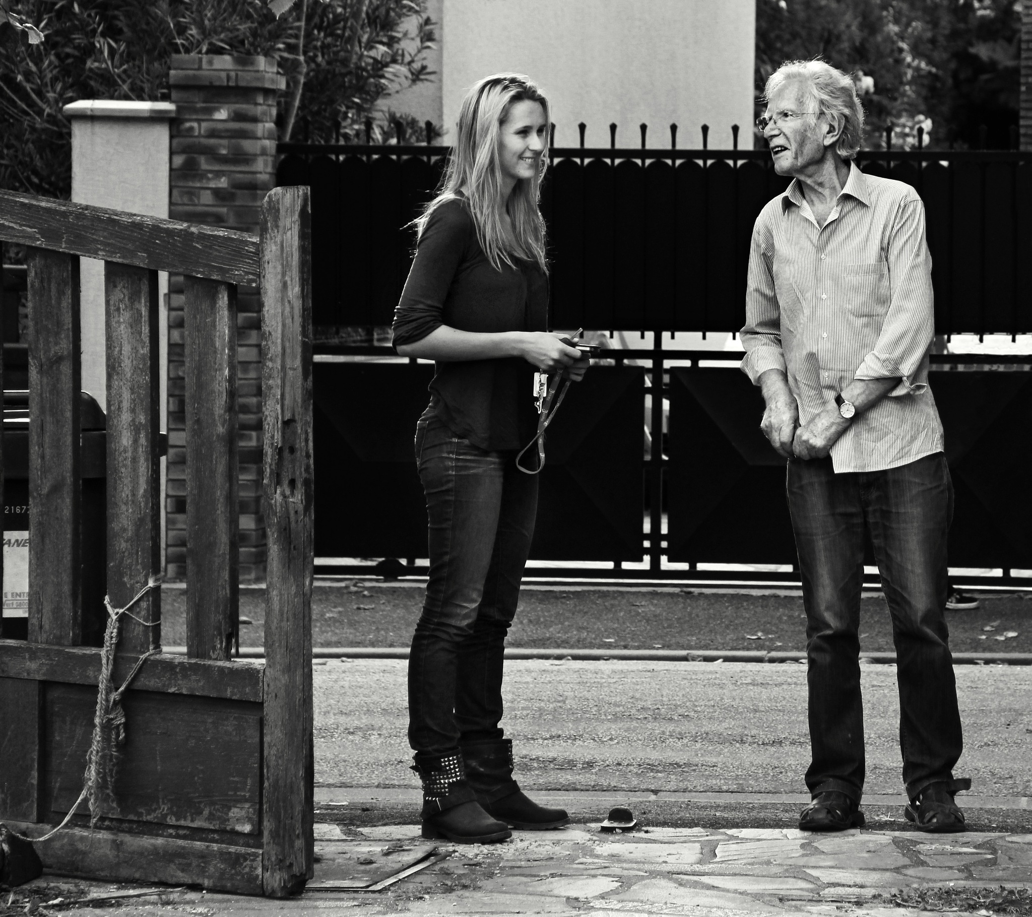 Serge and blonde by Сергей Юрьев