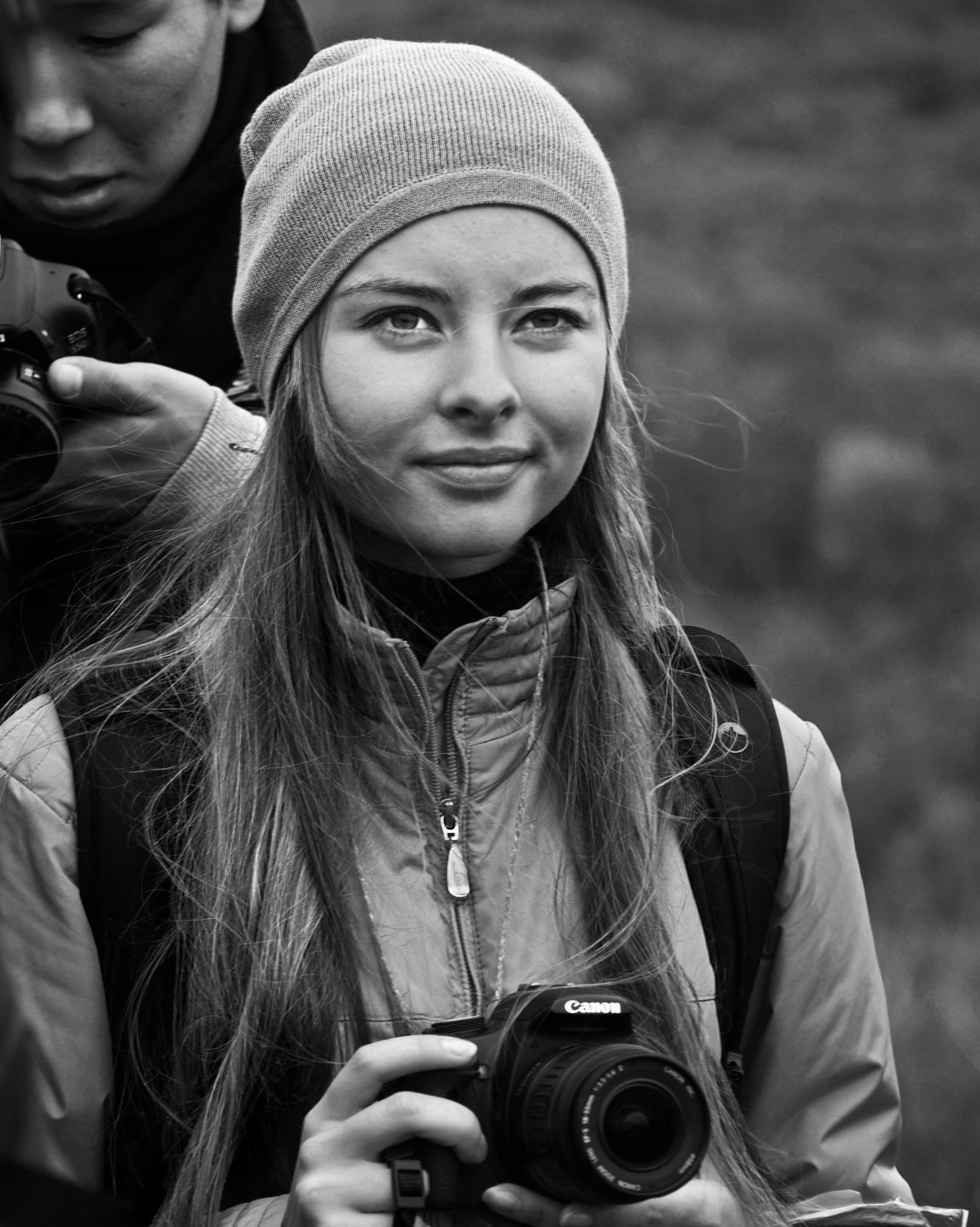 Anna and camera by Сергей Юрьев