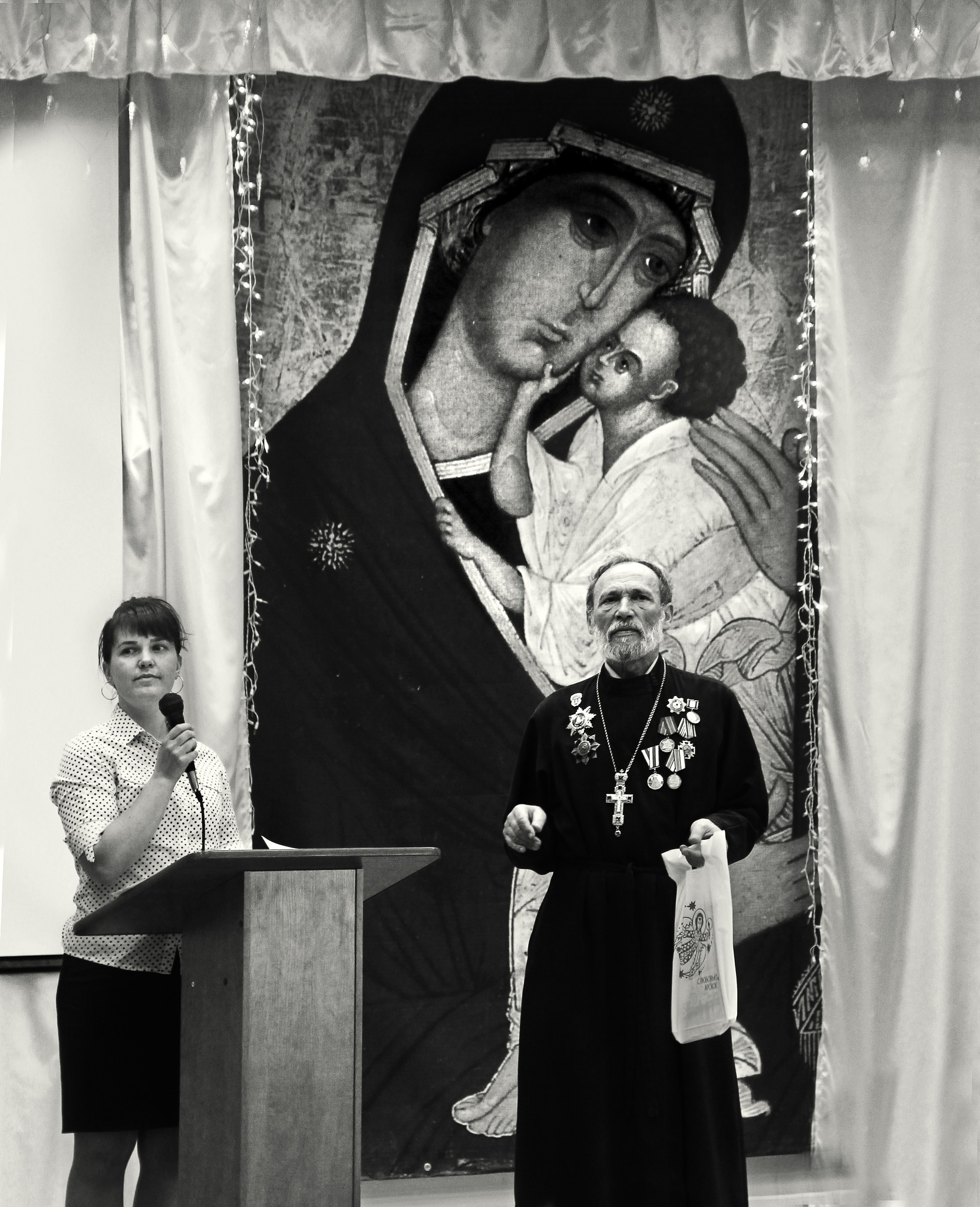 Awarding the winners of the contest of readers of poetry by Сергей Юрьев