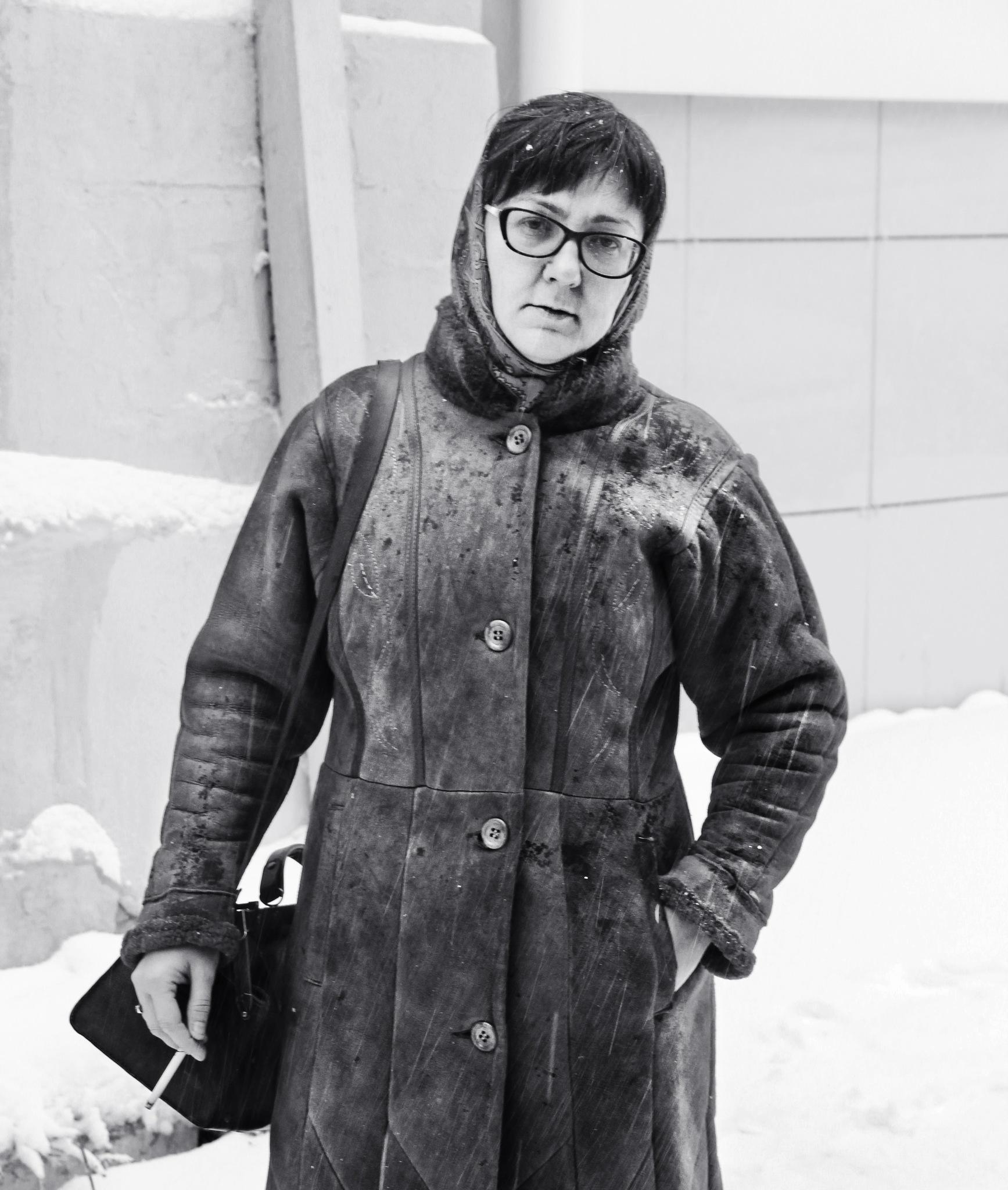 Under snowfall by Сергей Юрьев