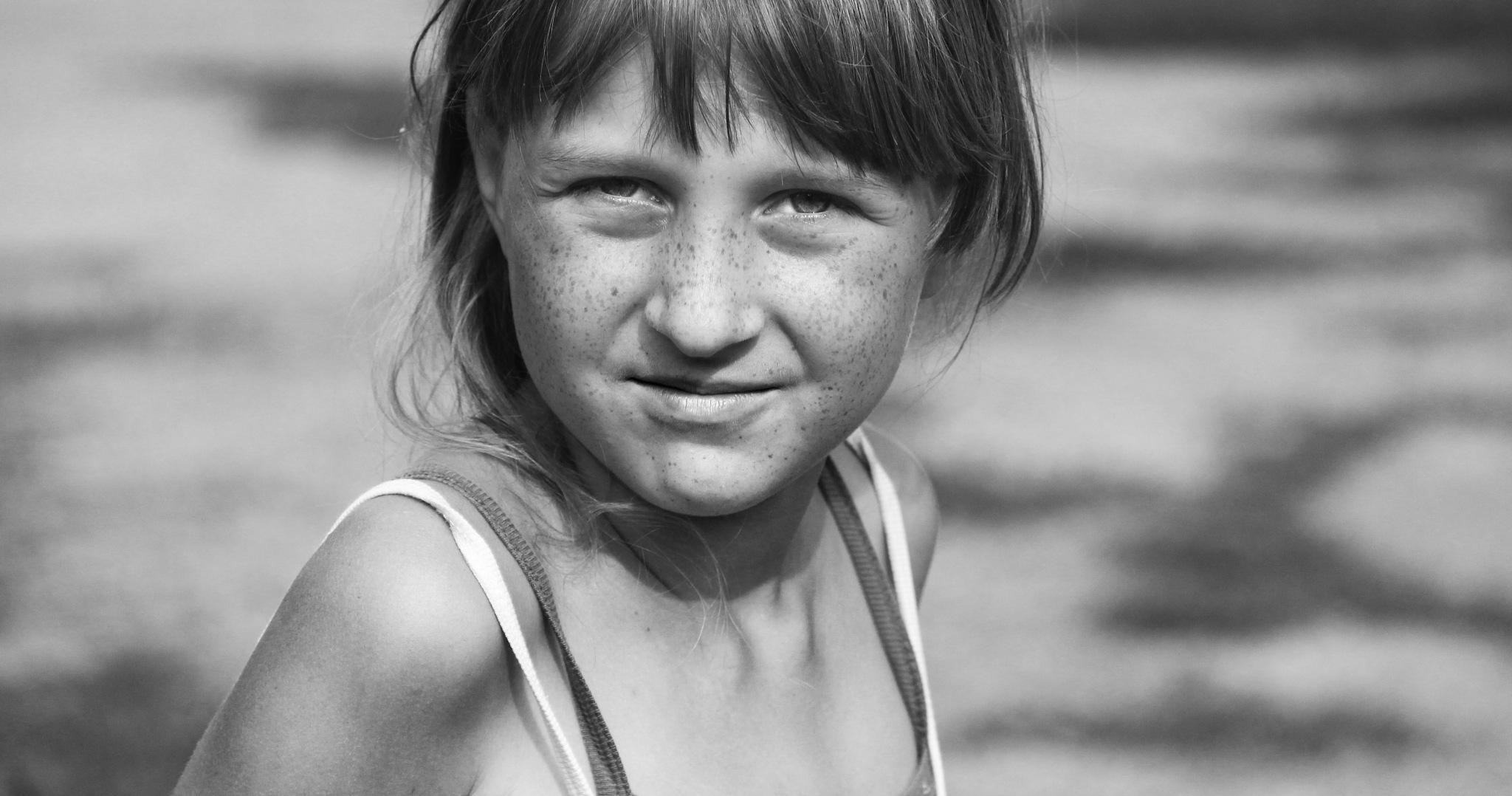 The girl from the village Kremionki by Сергей Юрьев