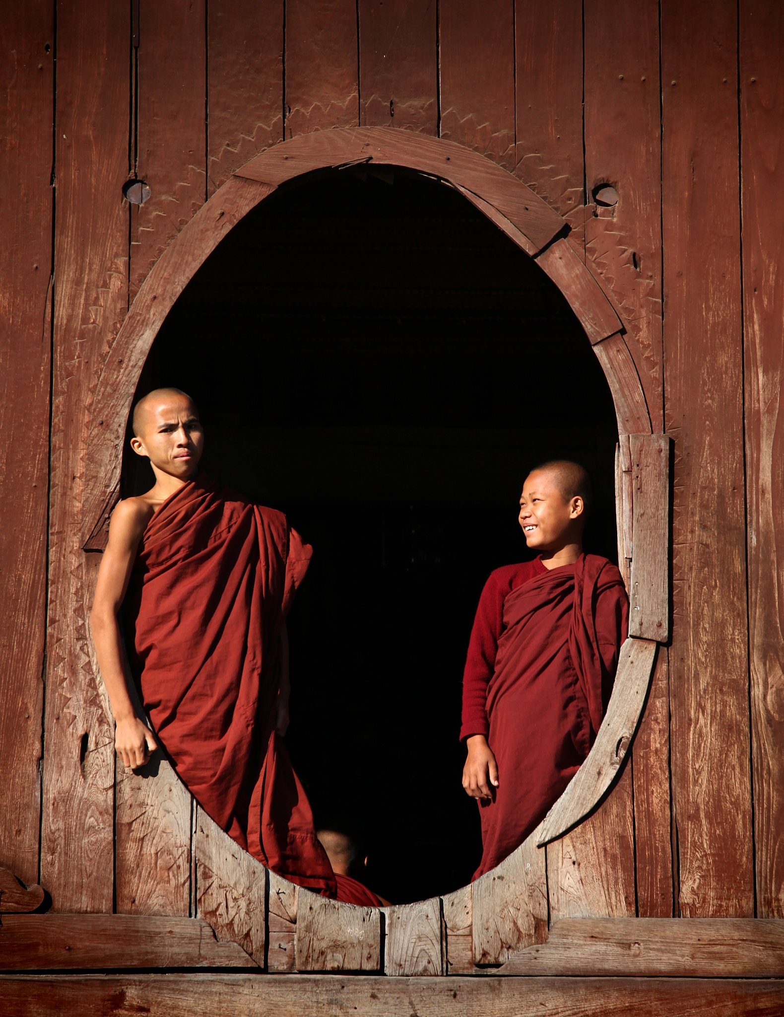 Photo in People #monks #buddhism #inle lake #myanmar