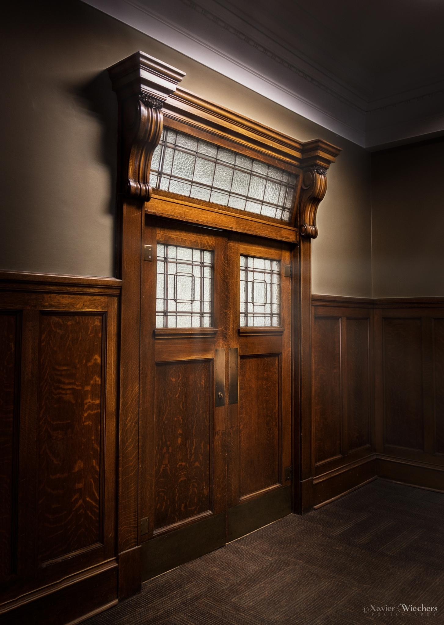 Vancouver Art Gallery - Court Door by xwiechers