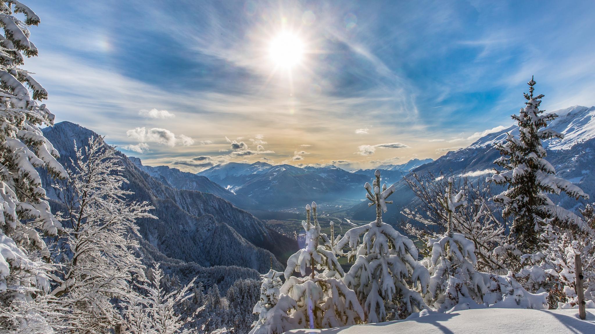 Winterday by Peter Grischott