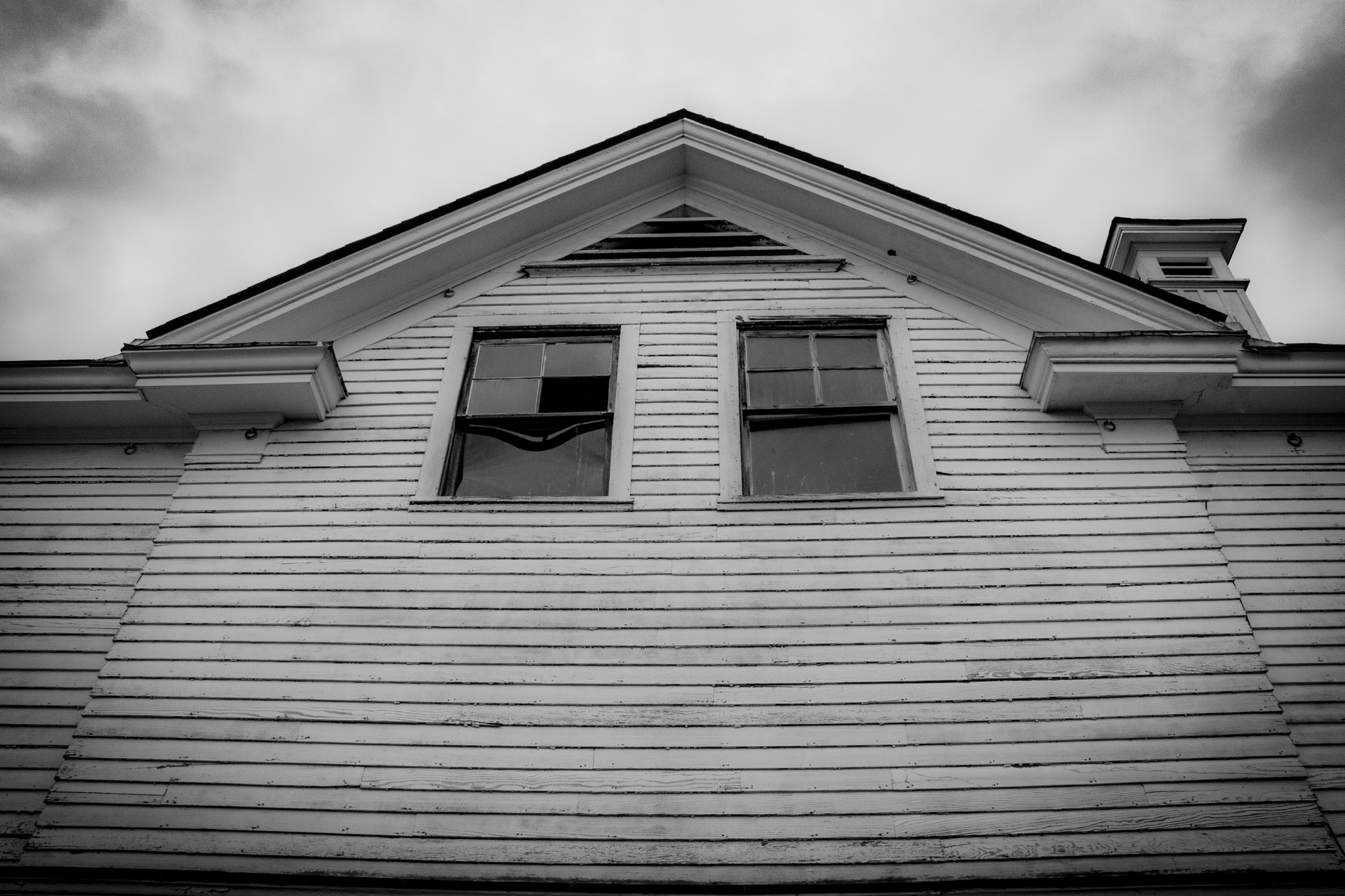 Creepy Abandoned house by Kasey Levine Hilleary