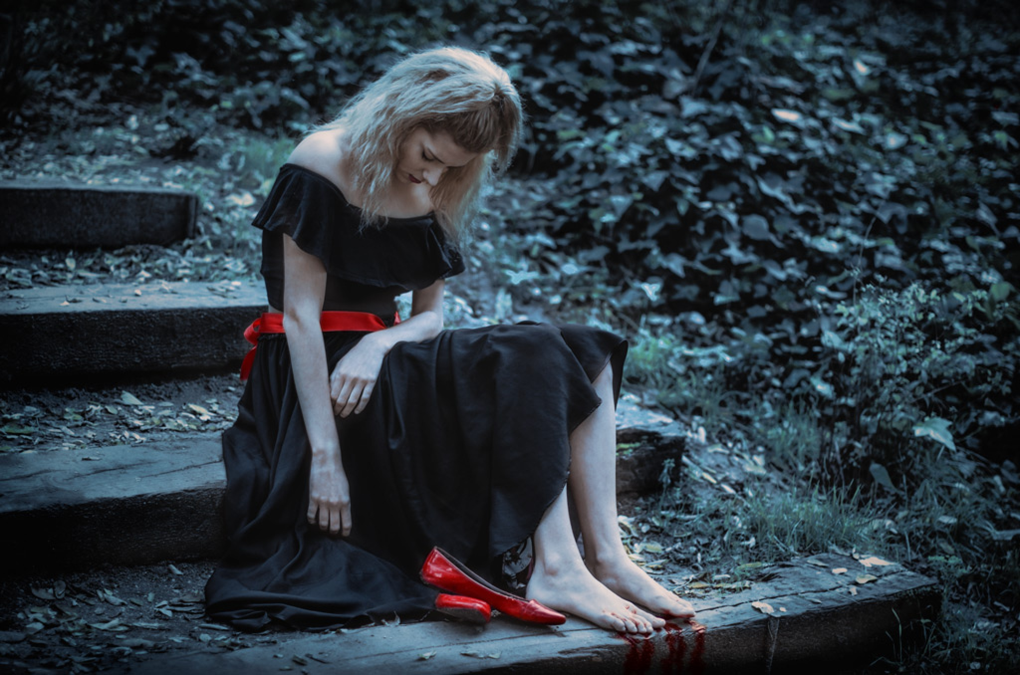 The red shoes: The punishment by Mia Madrid