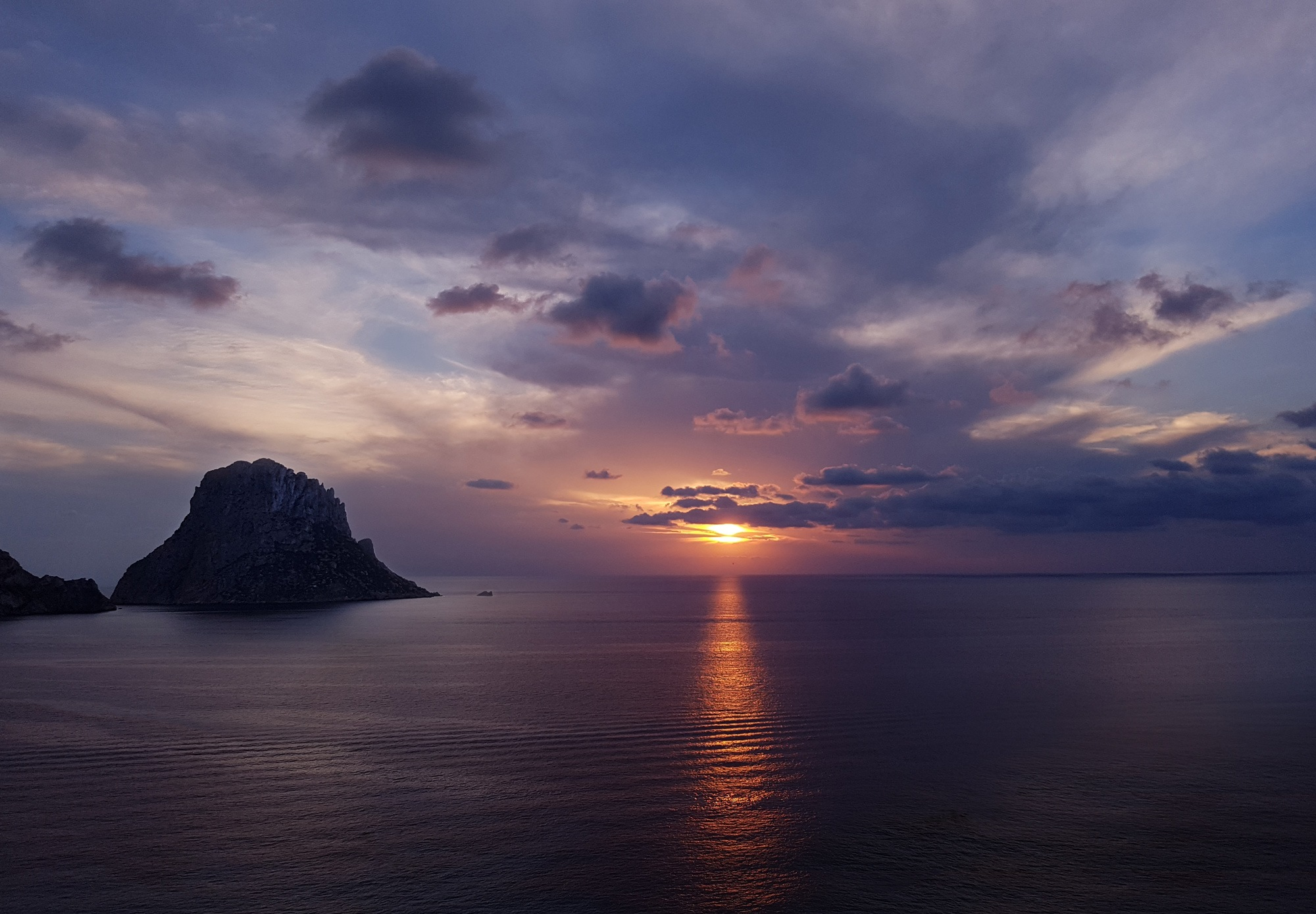 Ibiza Sunset by DJP ART