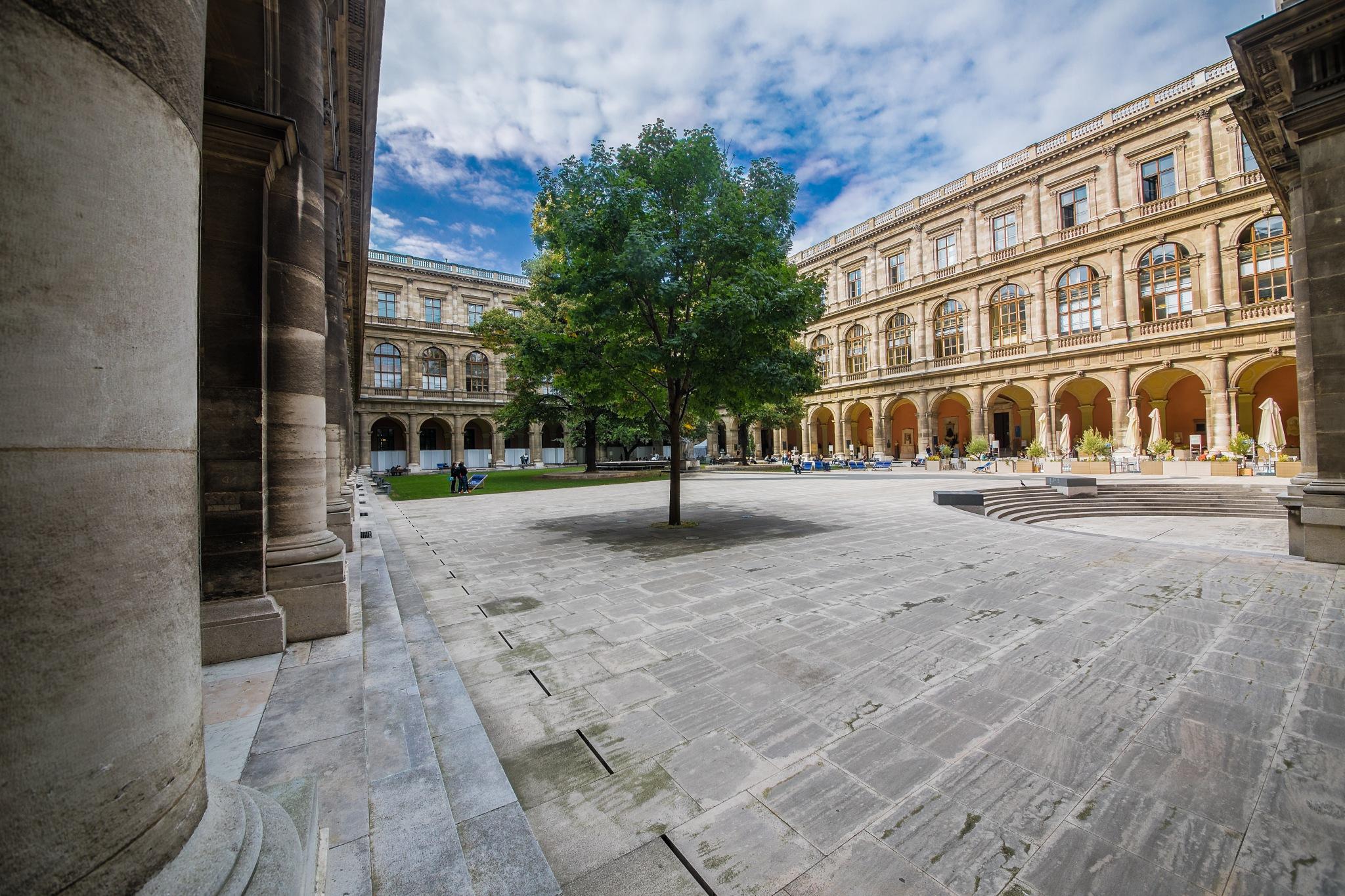 Vienna University by Christoph Reiter