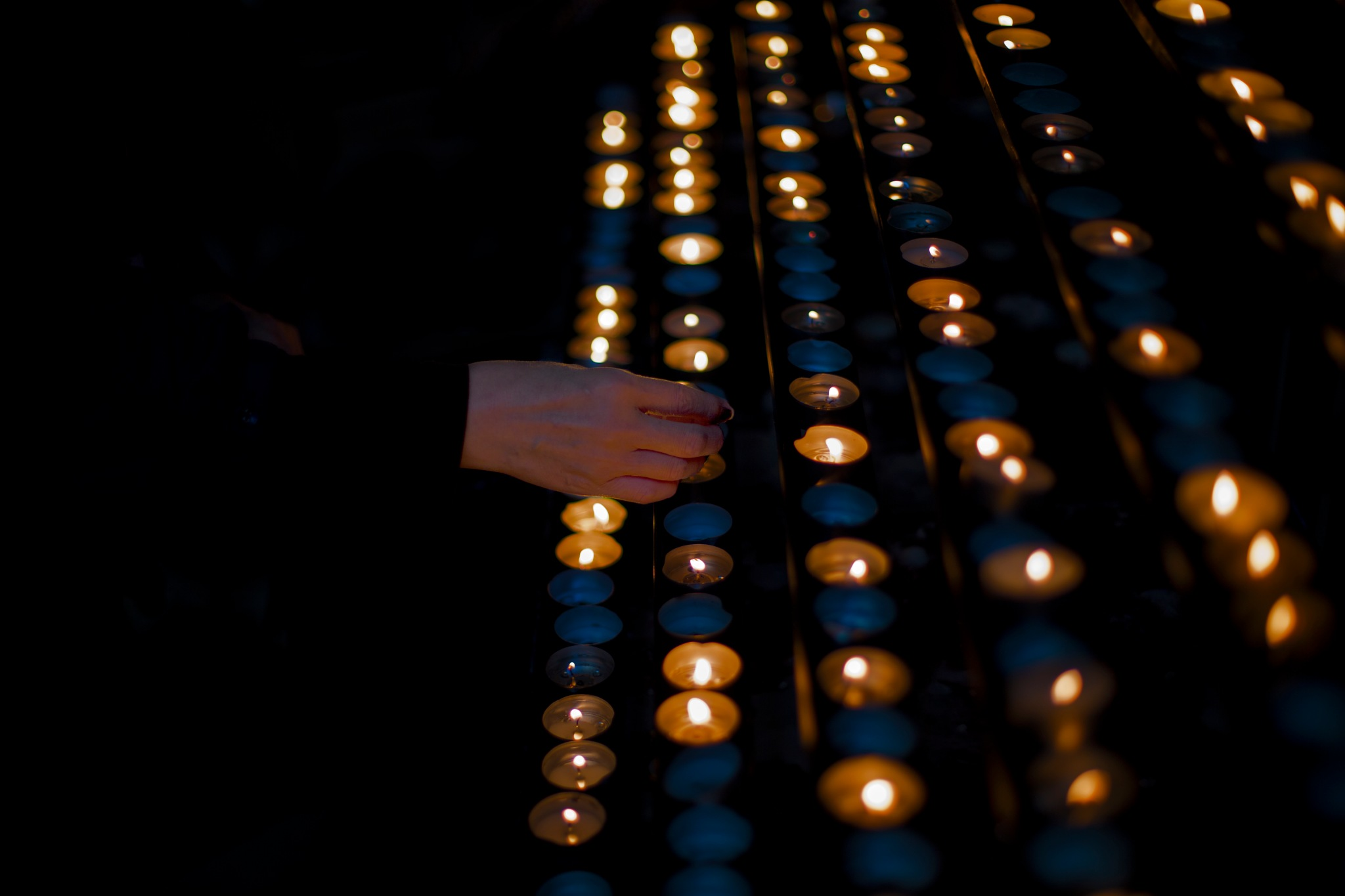 prayer by Christoph Reiter