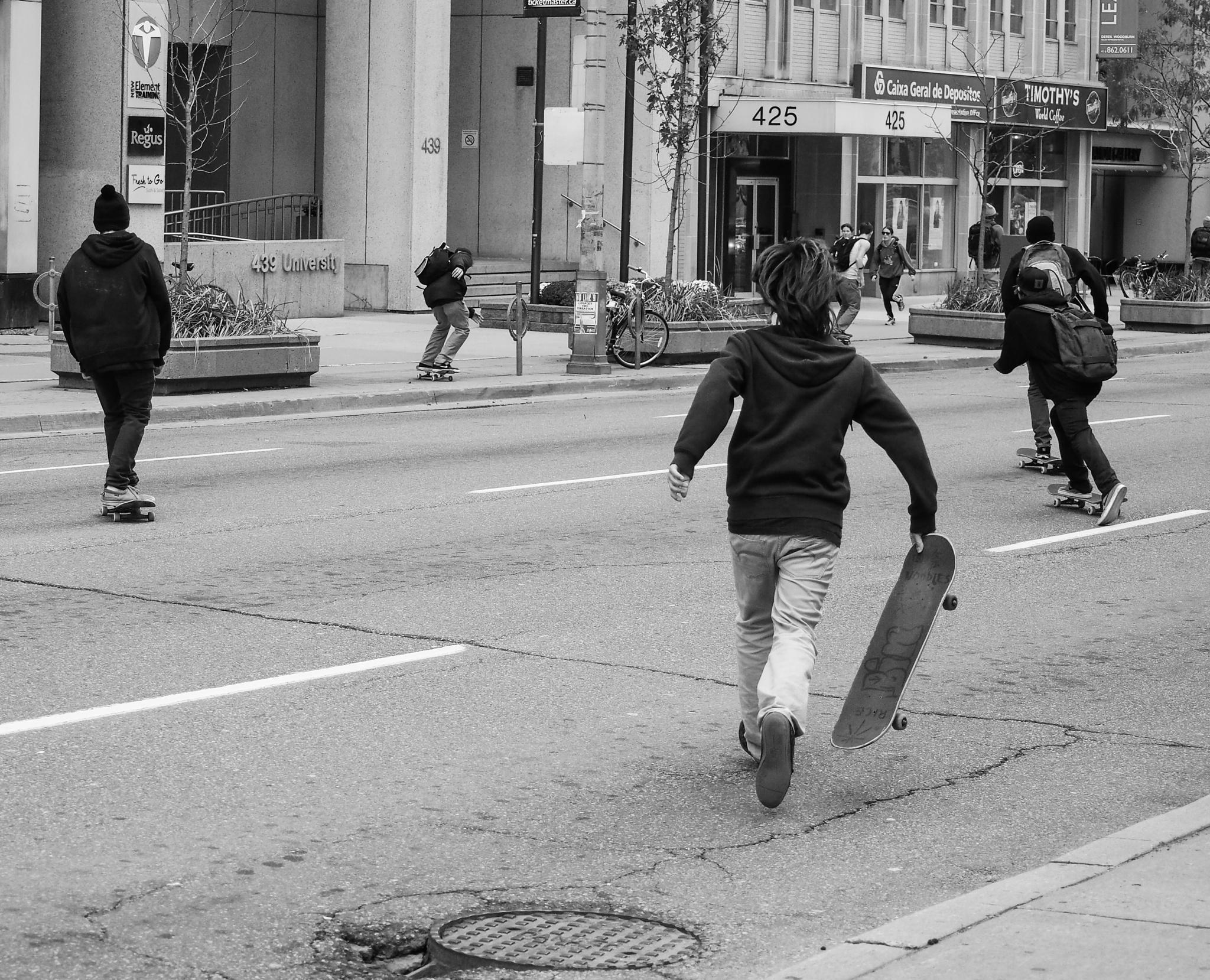 Skater Boyz by Po Wong