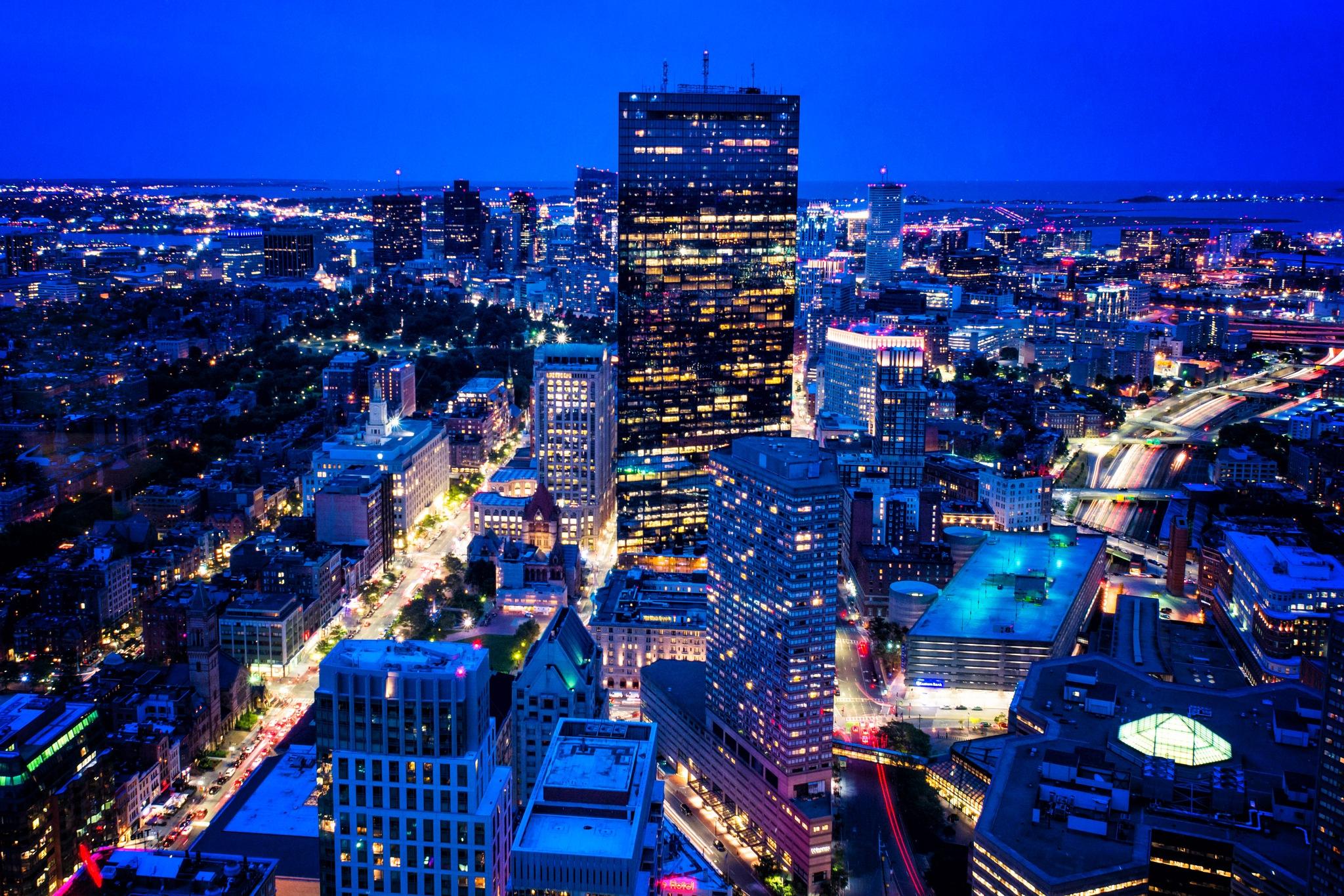 Boston Nightfall by Donny Campos
