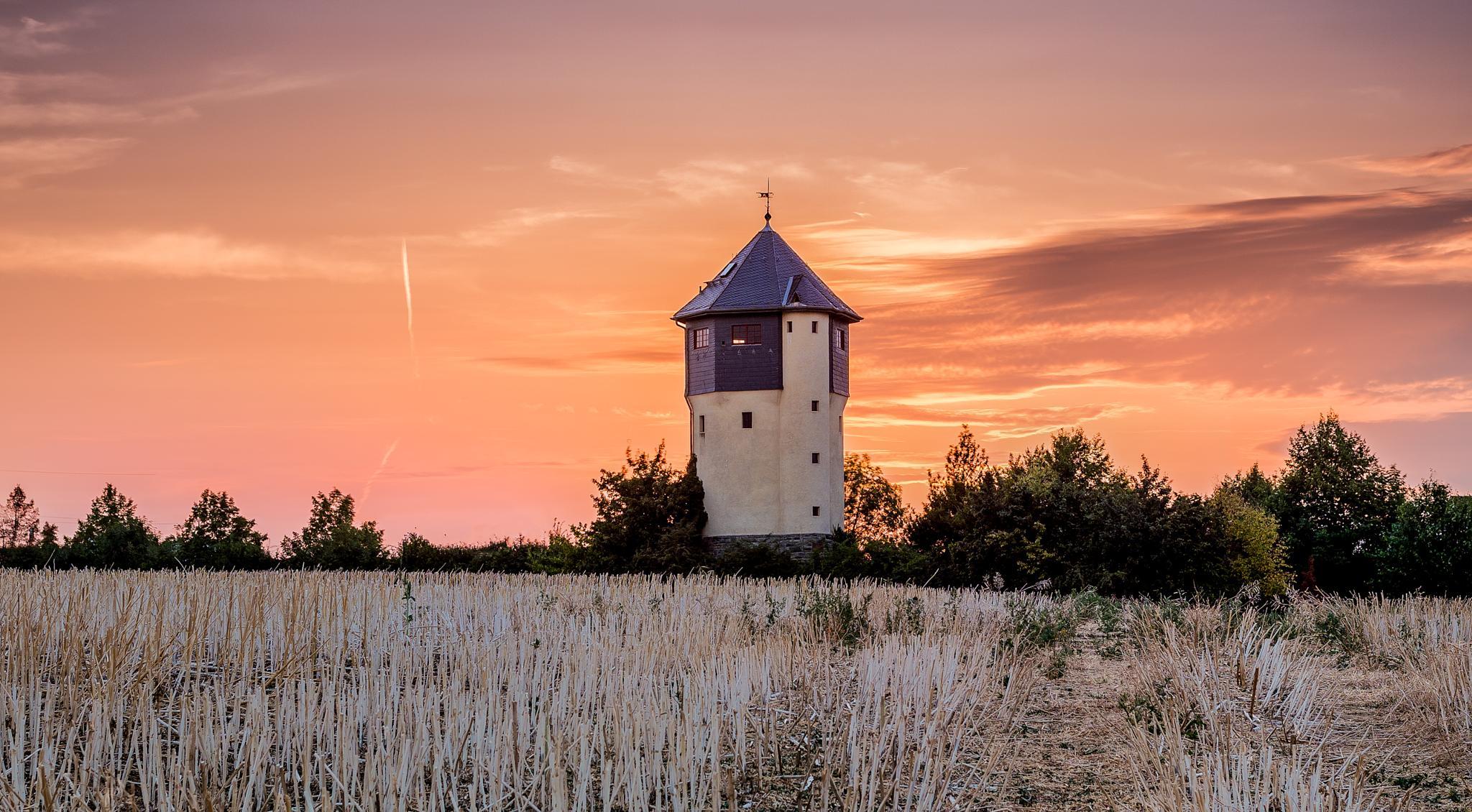 Old Water Tower by Nathalie Schönwetter
