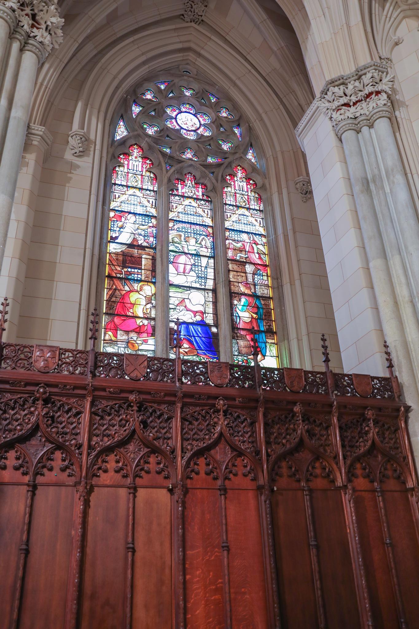 Chapel Window by Mark W. Cannady