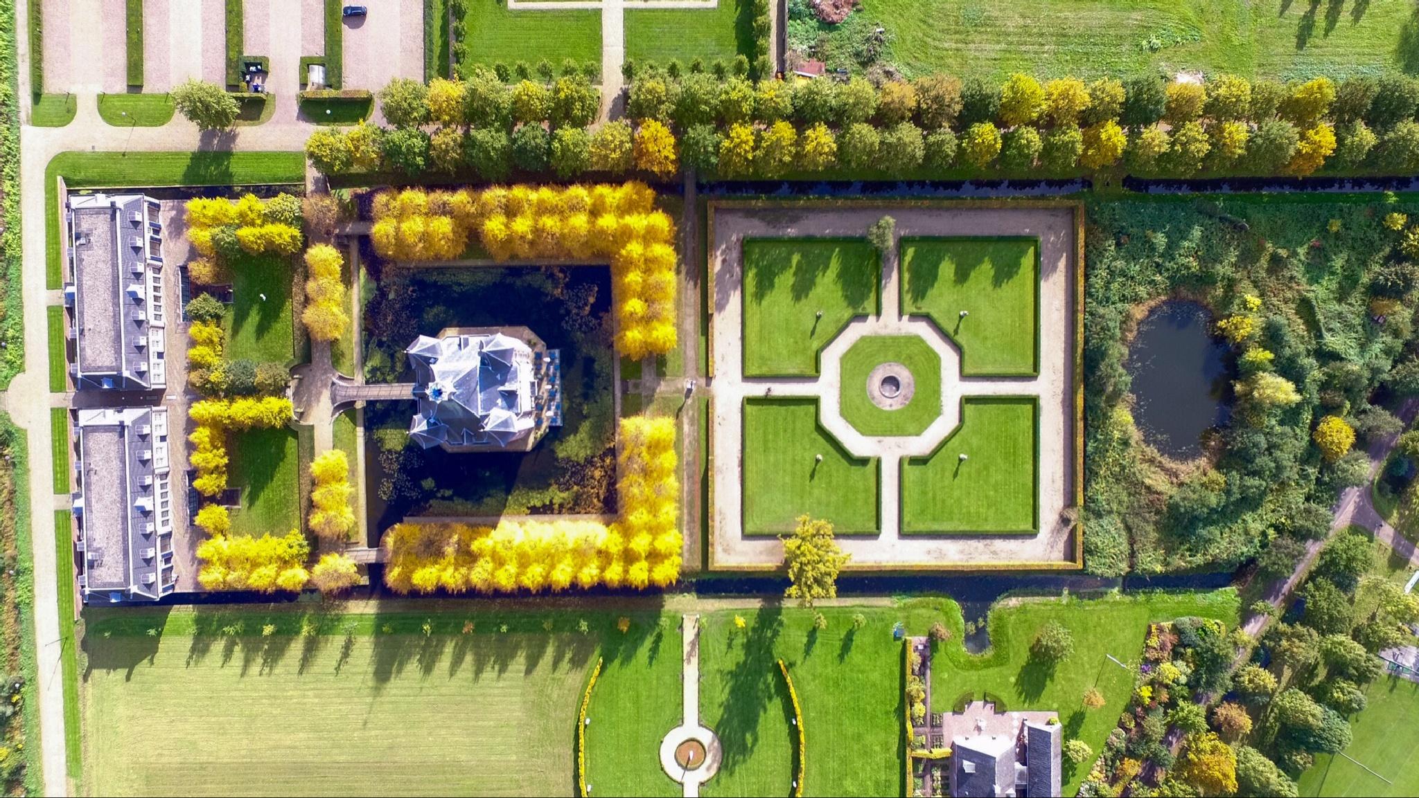 Castle Heemstede by Aerial Bonanza
