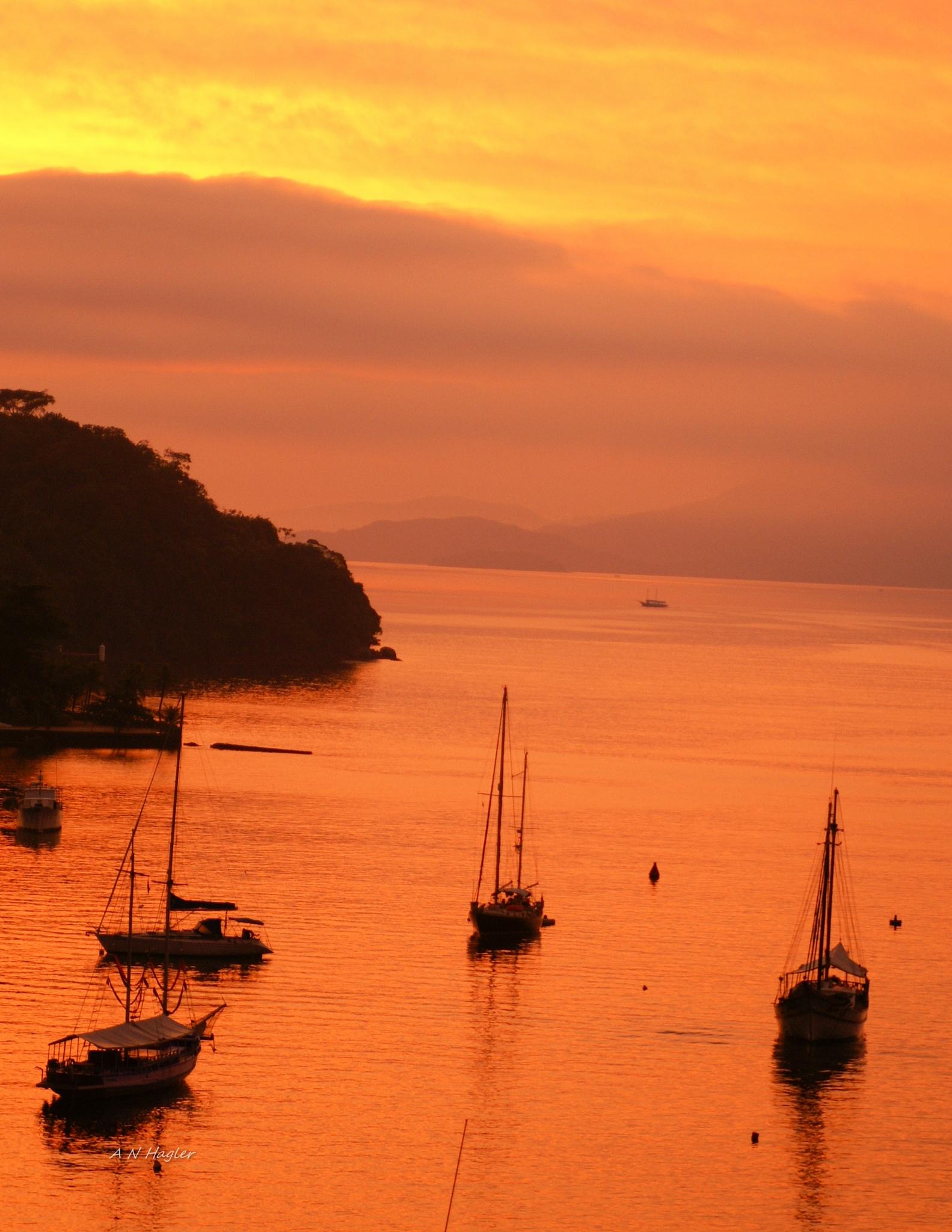 Angra dos Reis sunrise by allenhagler59663852