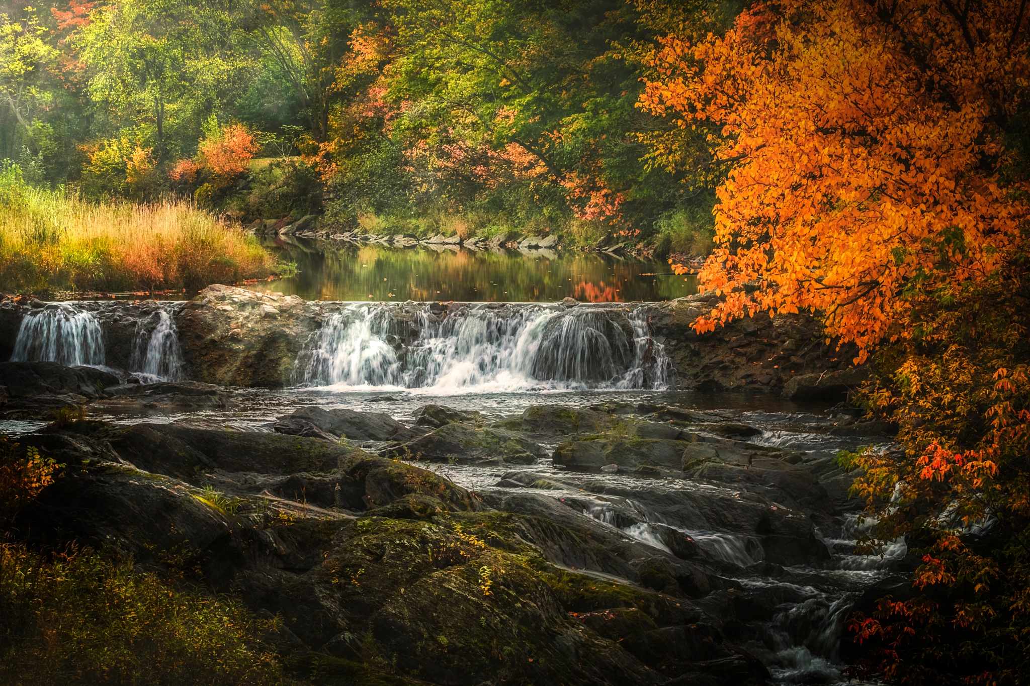 Waterfall by Stephen Clough
