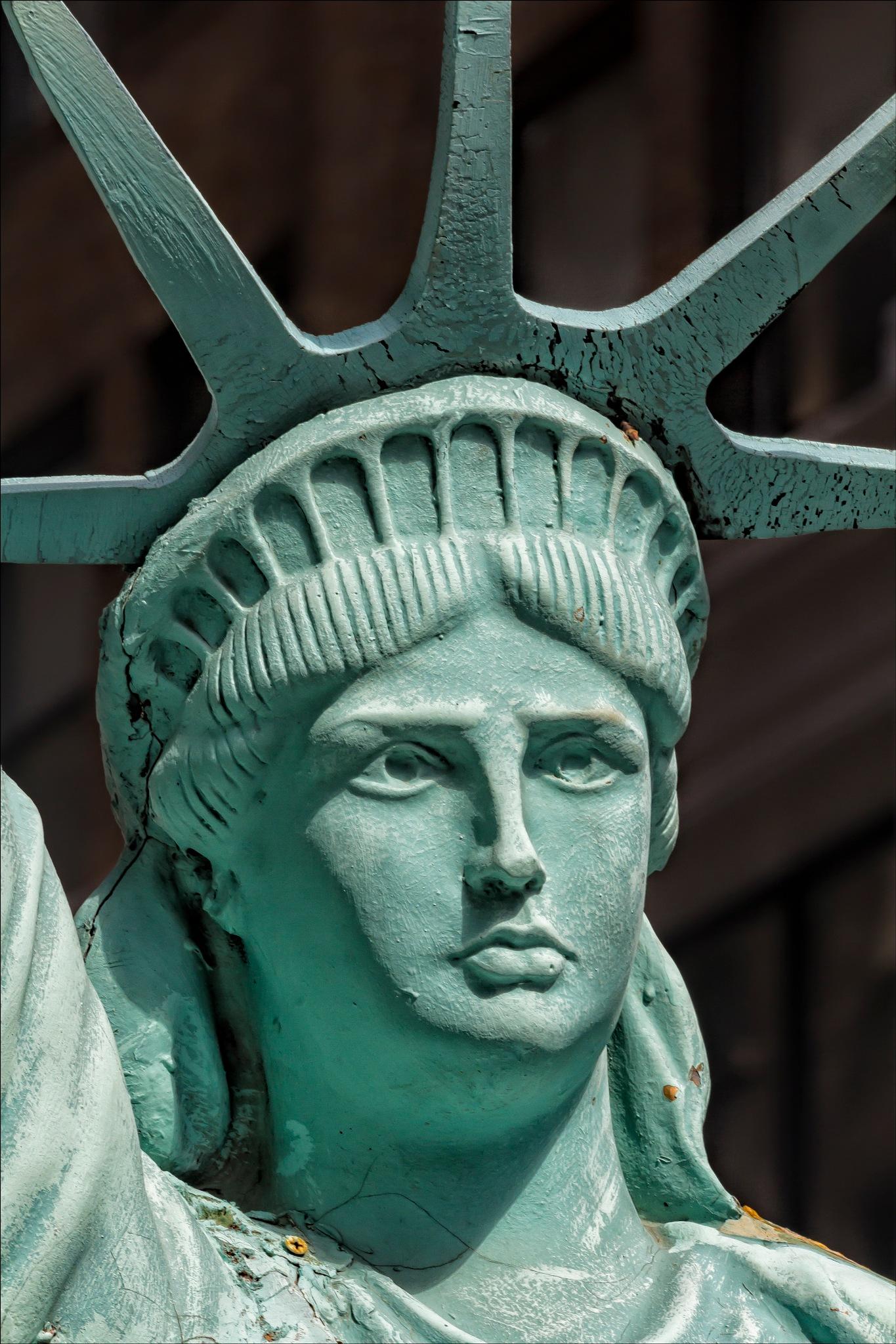 Pakistani Day Parade Model of Statue of Liberty by robertullmann