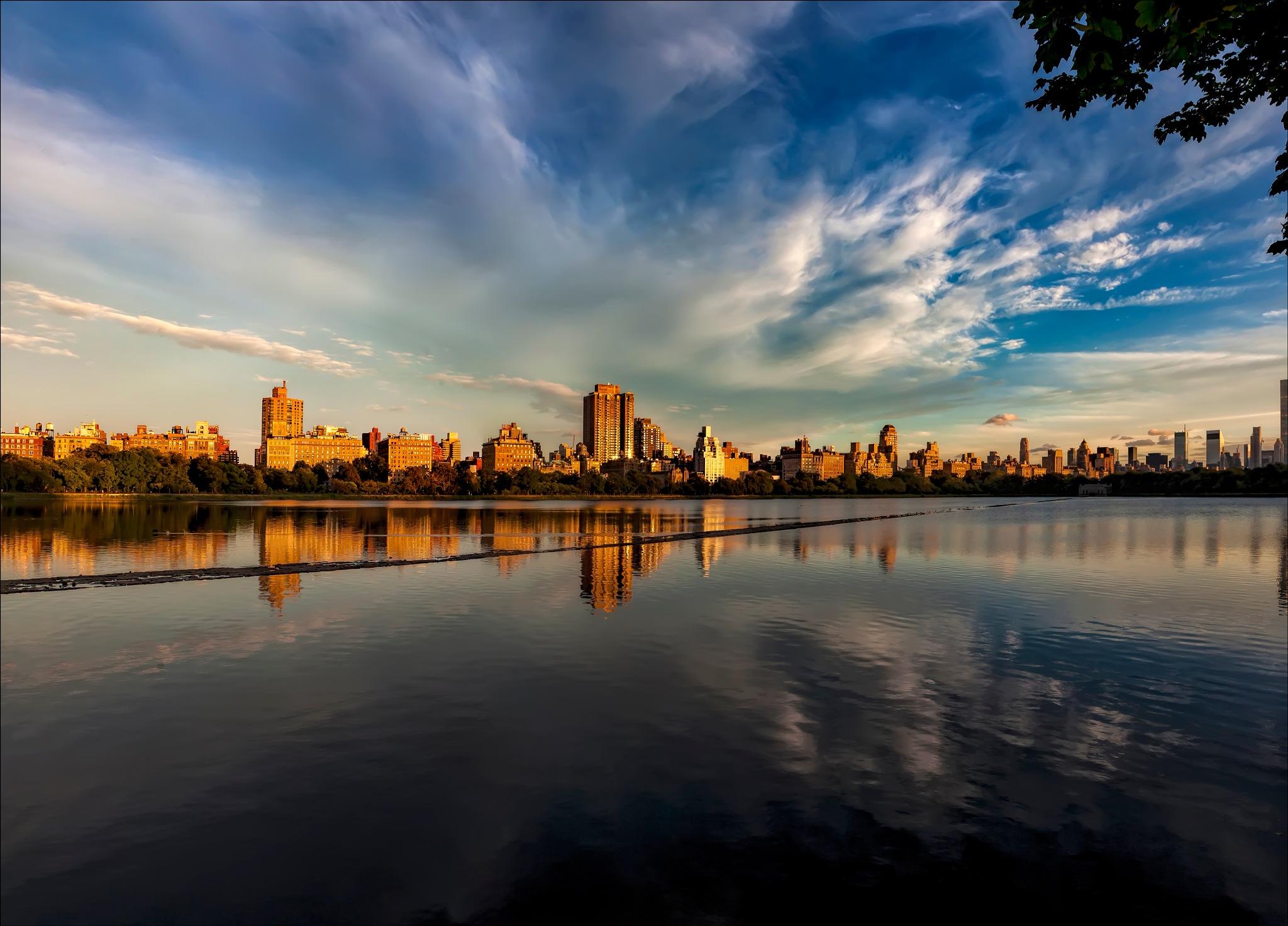 Central Park Reservoir NYC by robertullmann
