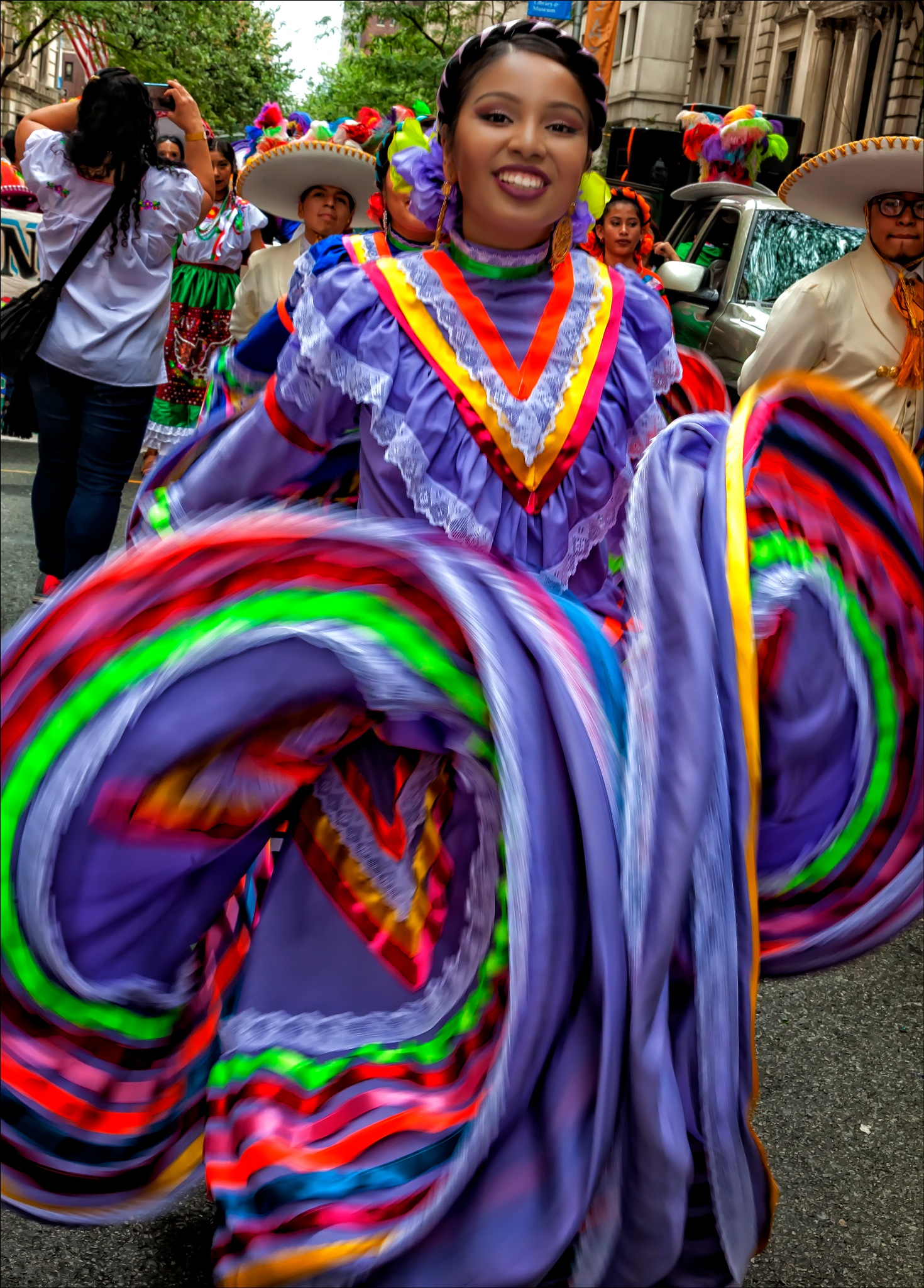Mexican Day Parade NYC 2016 Dancer by robertullmann