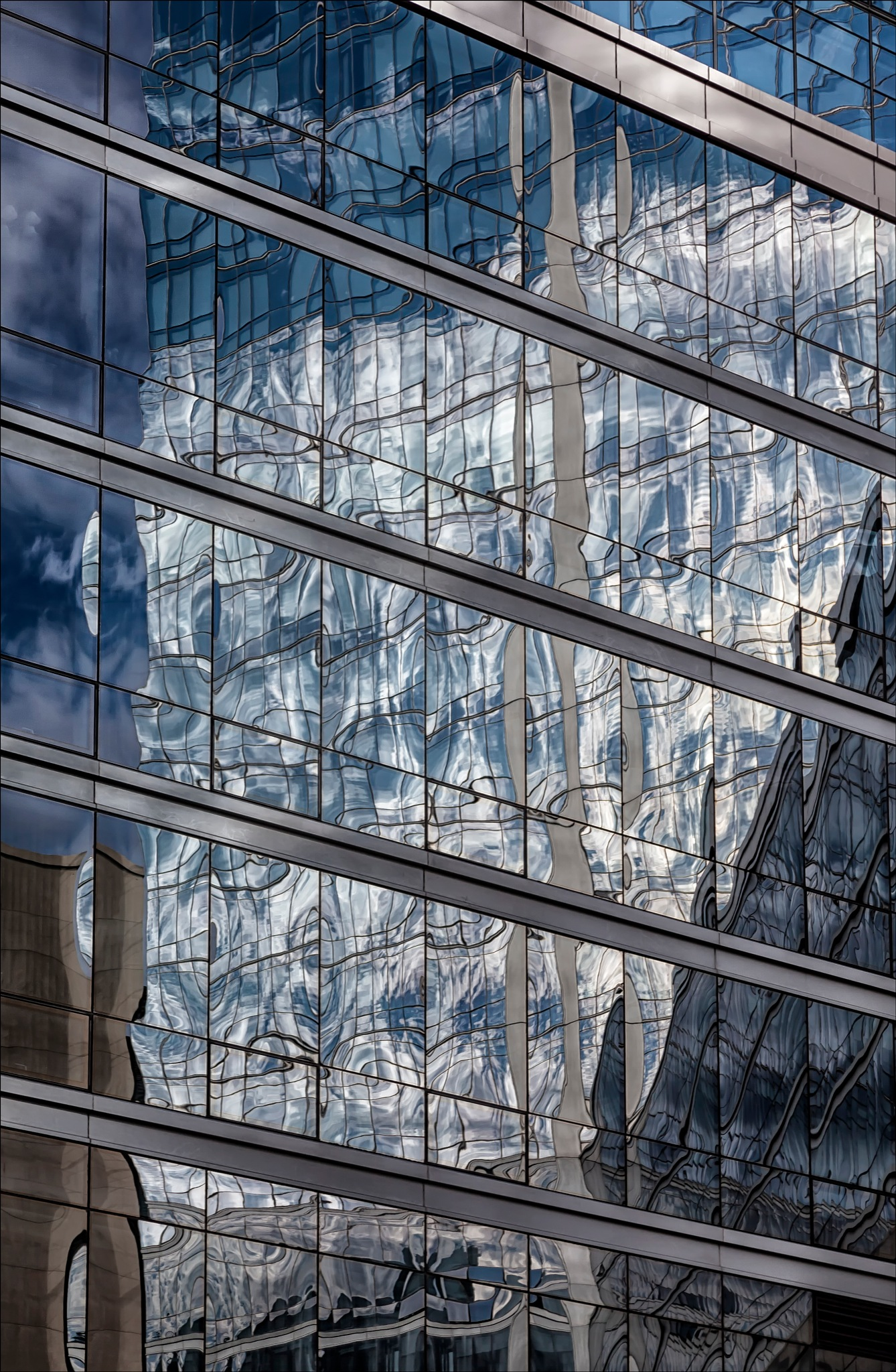 Reflective Glass Architecture by robertullmann