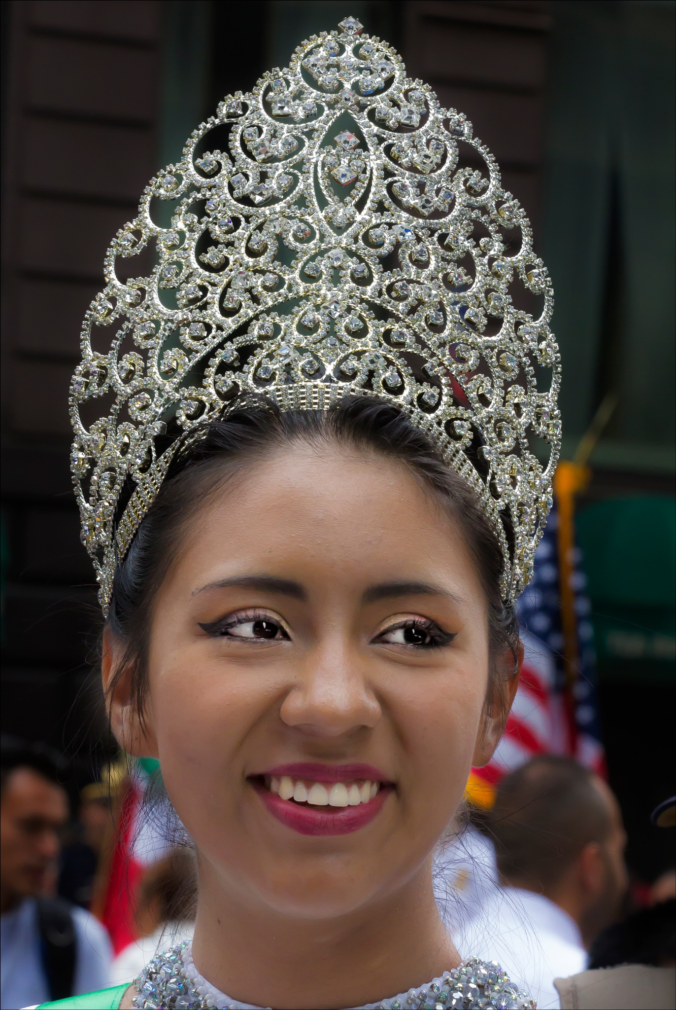 Mexican Day Parade NYC 2016 Beauty Queen by robertullmann