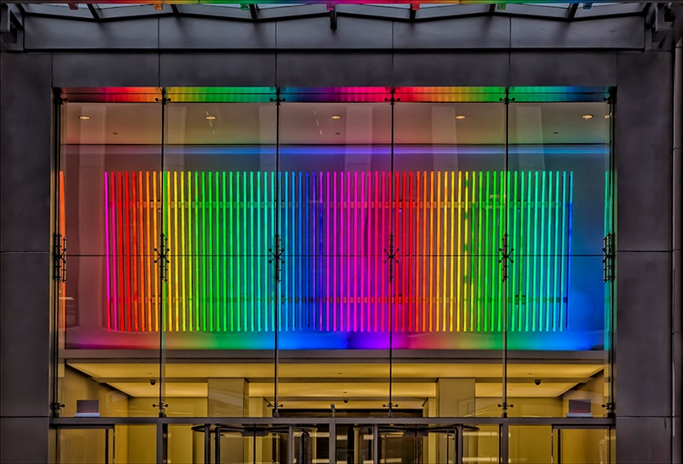 Multicolored lights by robertullmann