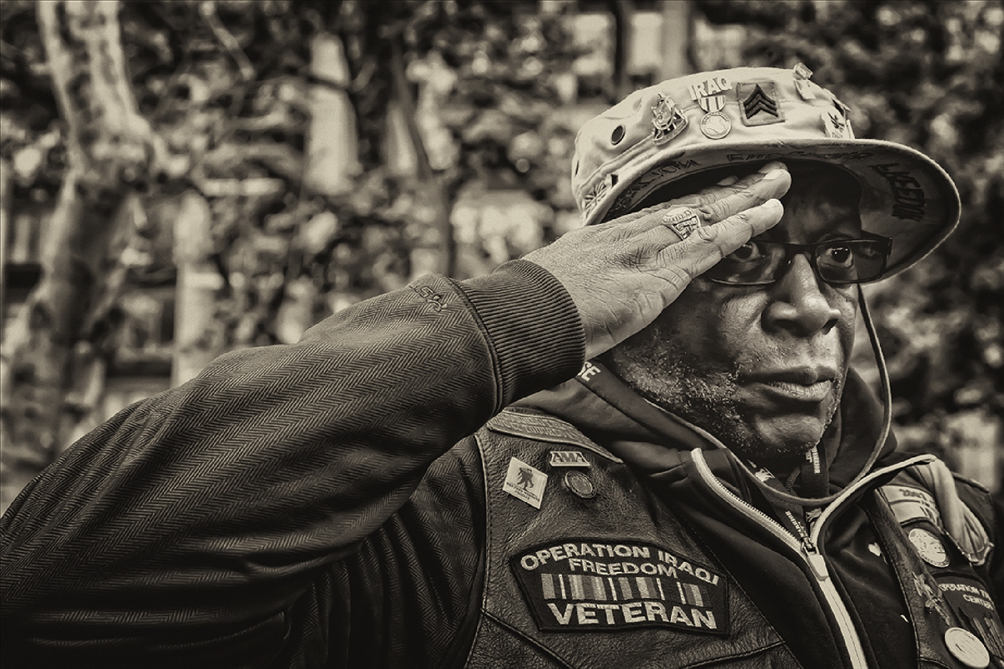 Veterans Day NYC 2015 by robertullmann