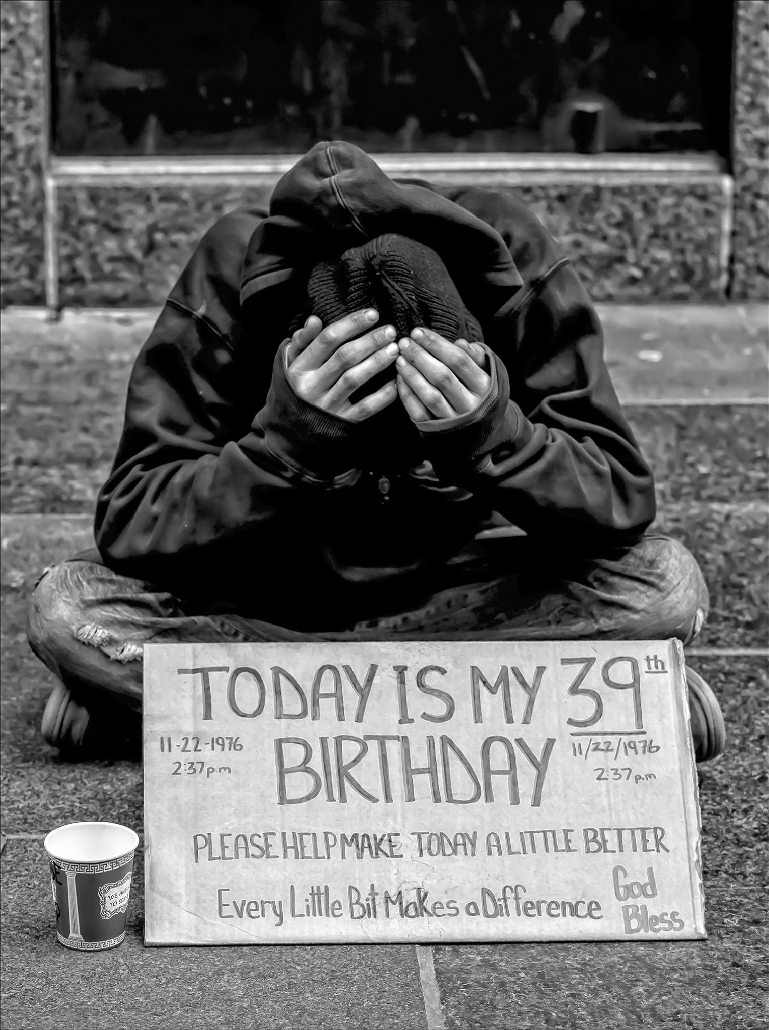 Homeless by robertullmann