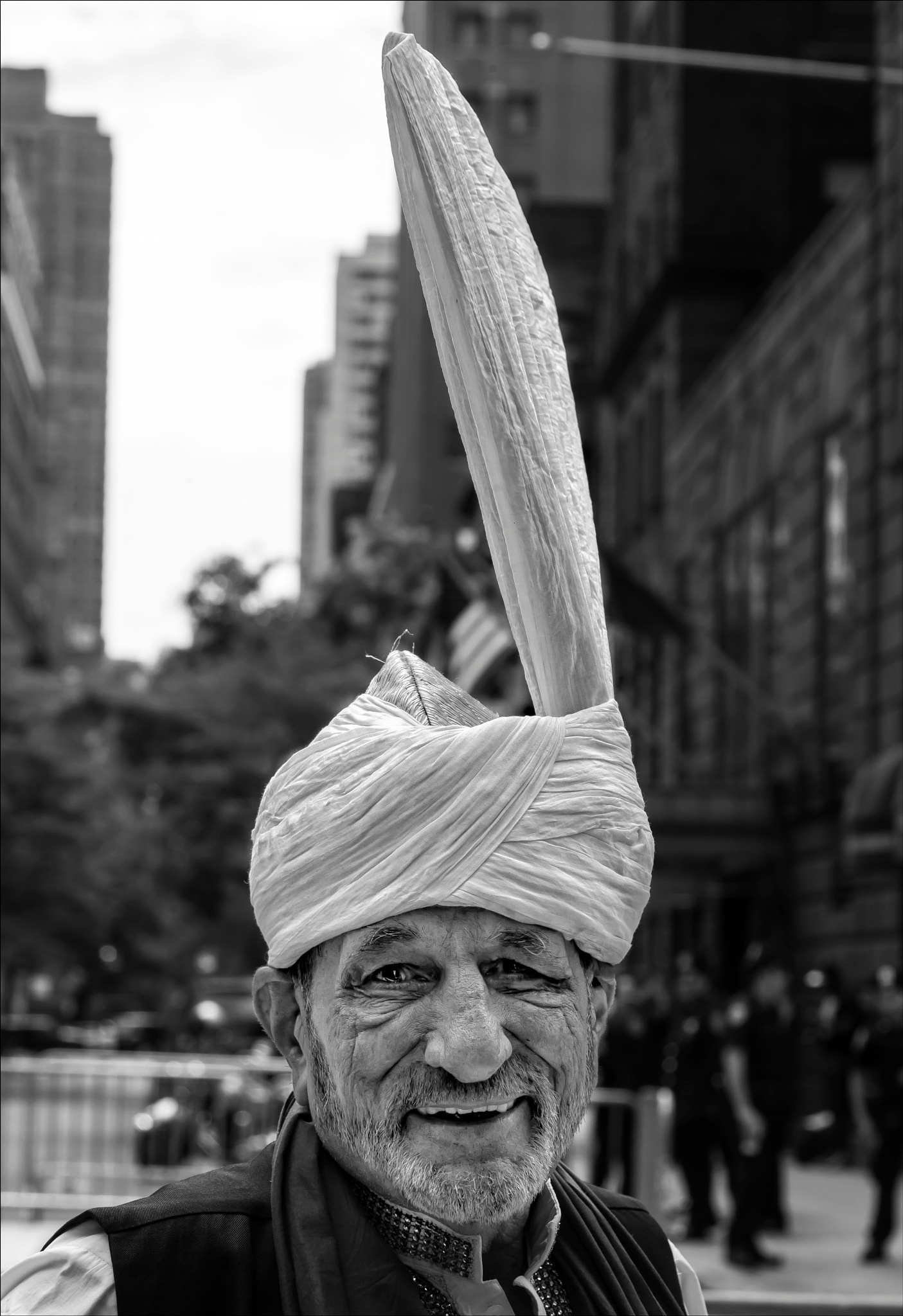 Pakistani Day NYC 2017 Man in Traditional Dress by robertullmann