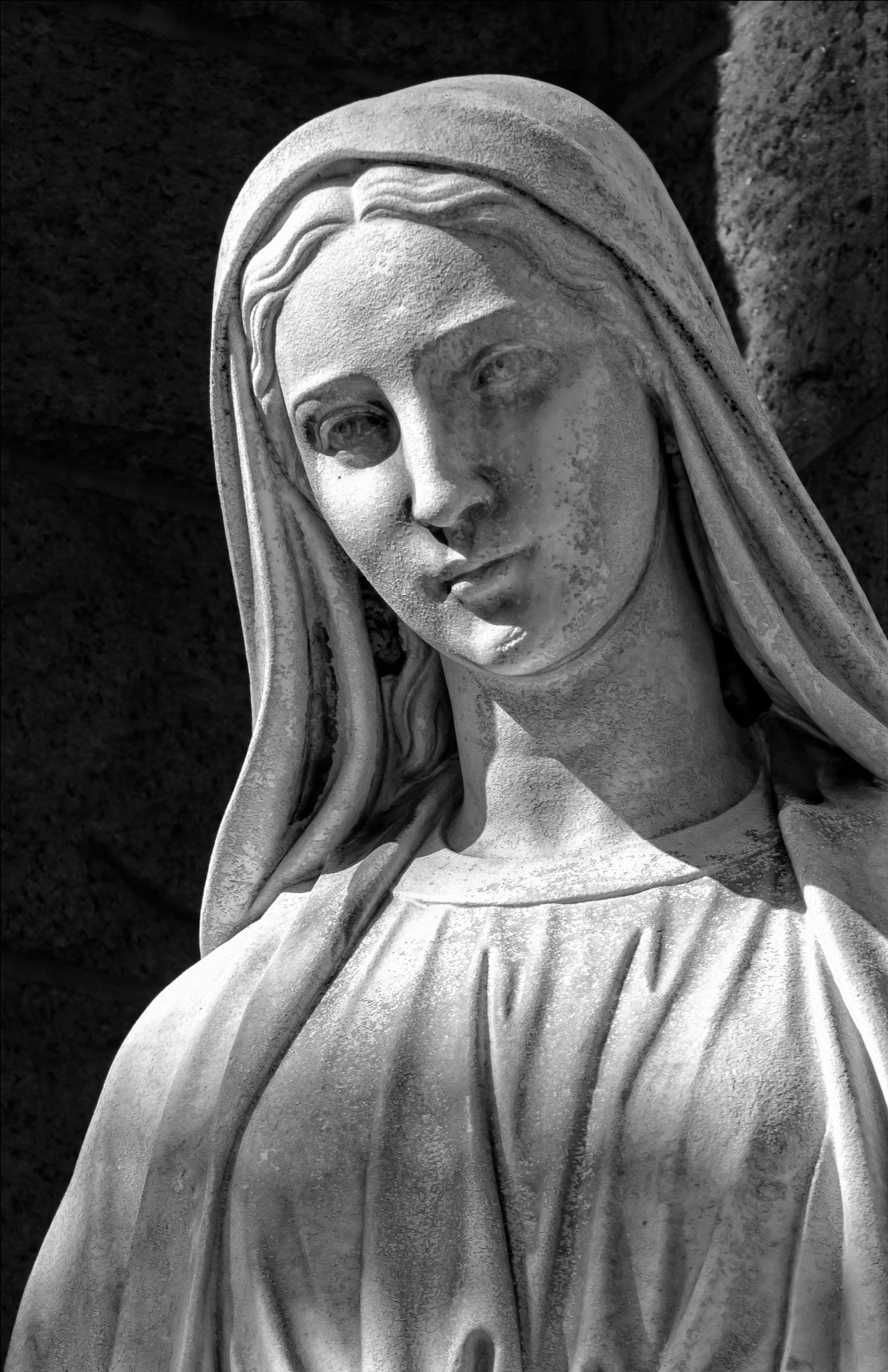 Madonna Statue by robertullmann