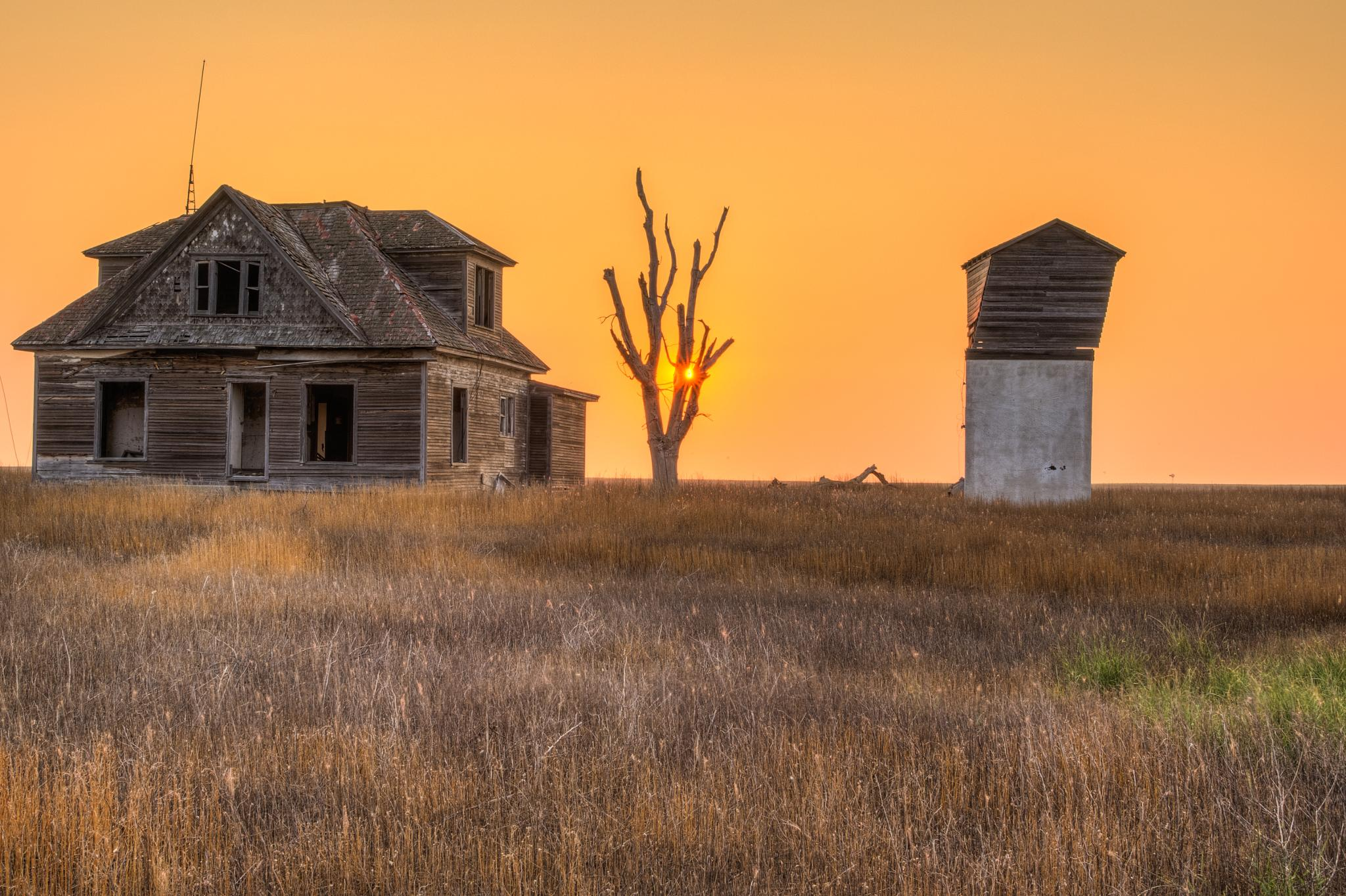 Abandoned Sunrise by Jim Talbert
